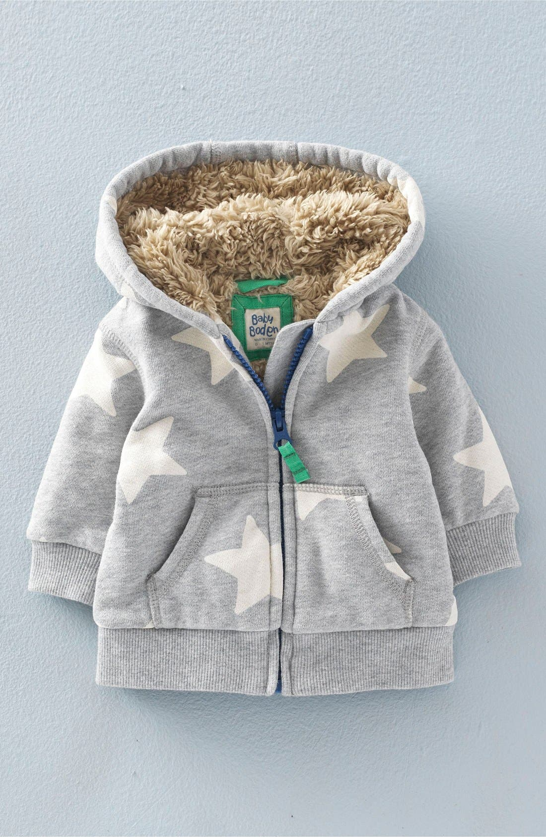 'Shaggy' Lined Zip-Up Hoodie, Main, color, 062
