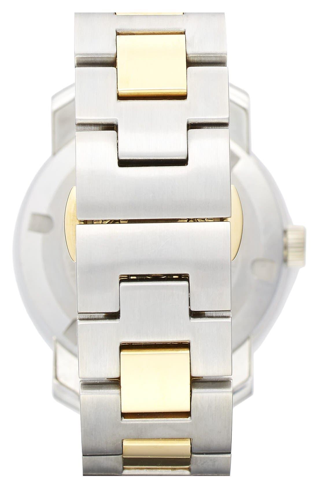 'Bold' Round Bracelet Watch, 36mm,                             Alternate thumbnail 4, color,