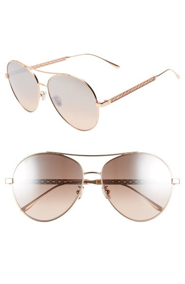 e60d84886196 Jimmy Choo Noria 61mm Special Fit Gradient Aviator Sunglasses ...