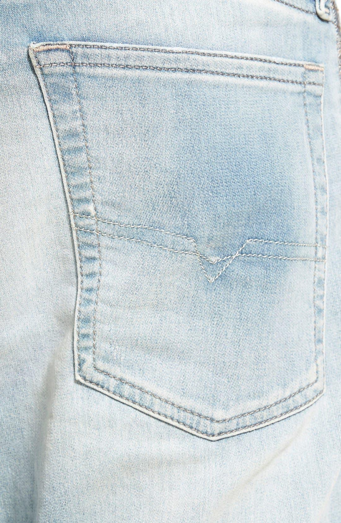 'Spender' Skinny Fit Jeans,                             Alternate thumbnail 2, color,                             400