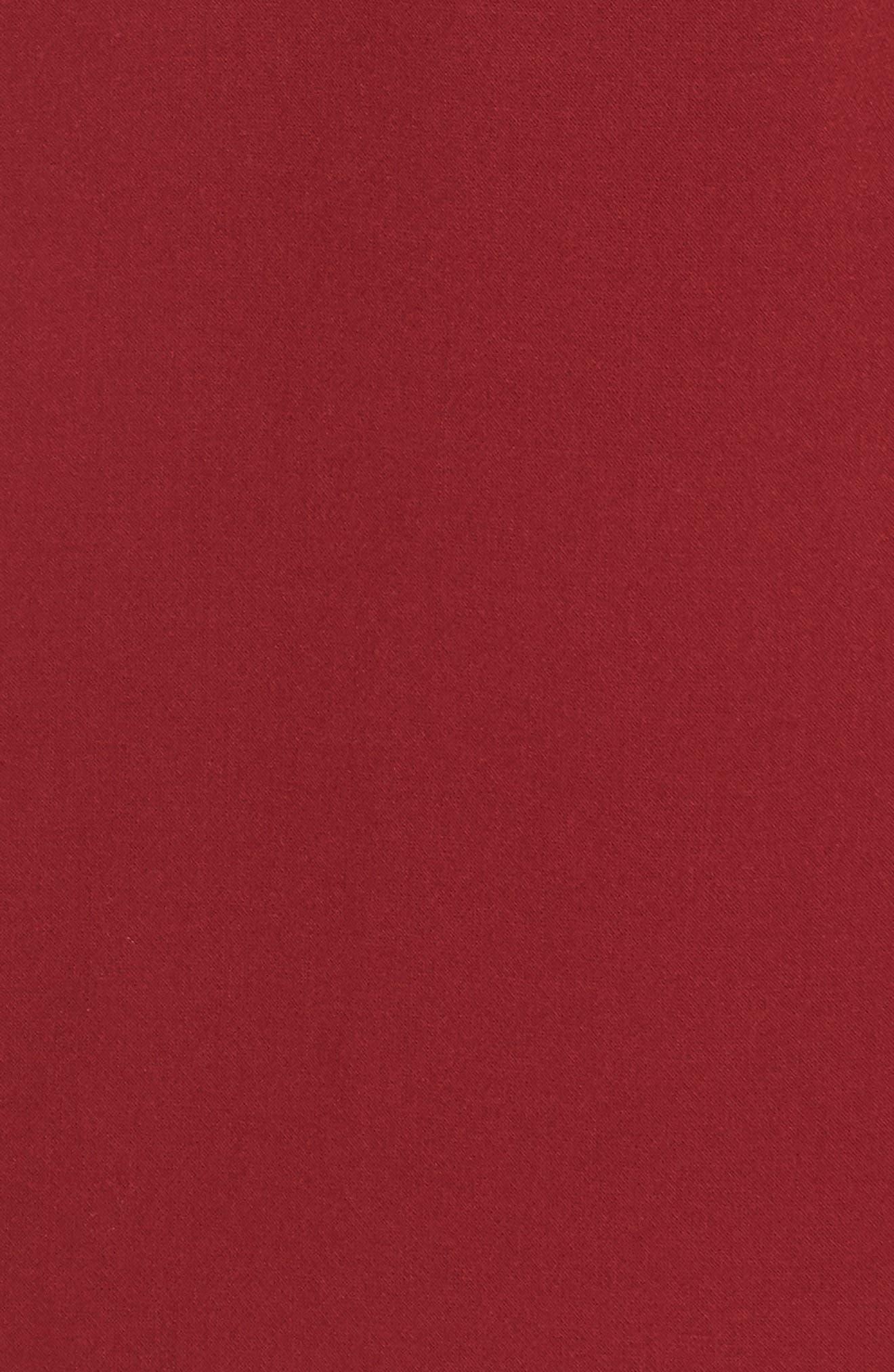 V-Back Tank Dress,                             Alternate thumbnail 6, color,                             DEEP FRAMBOISE