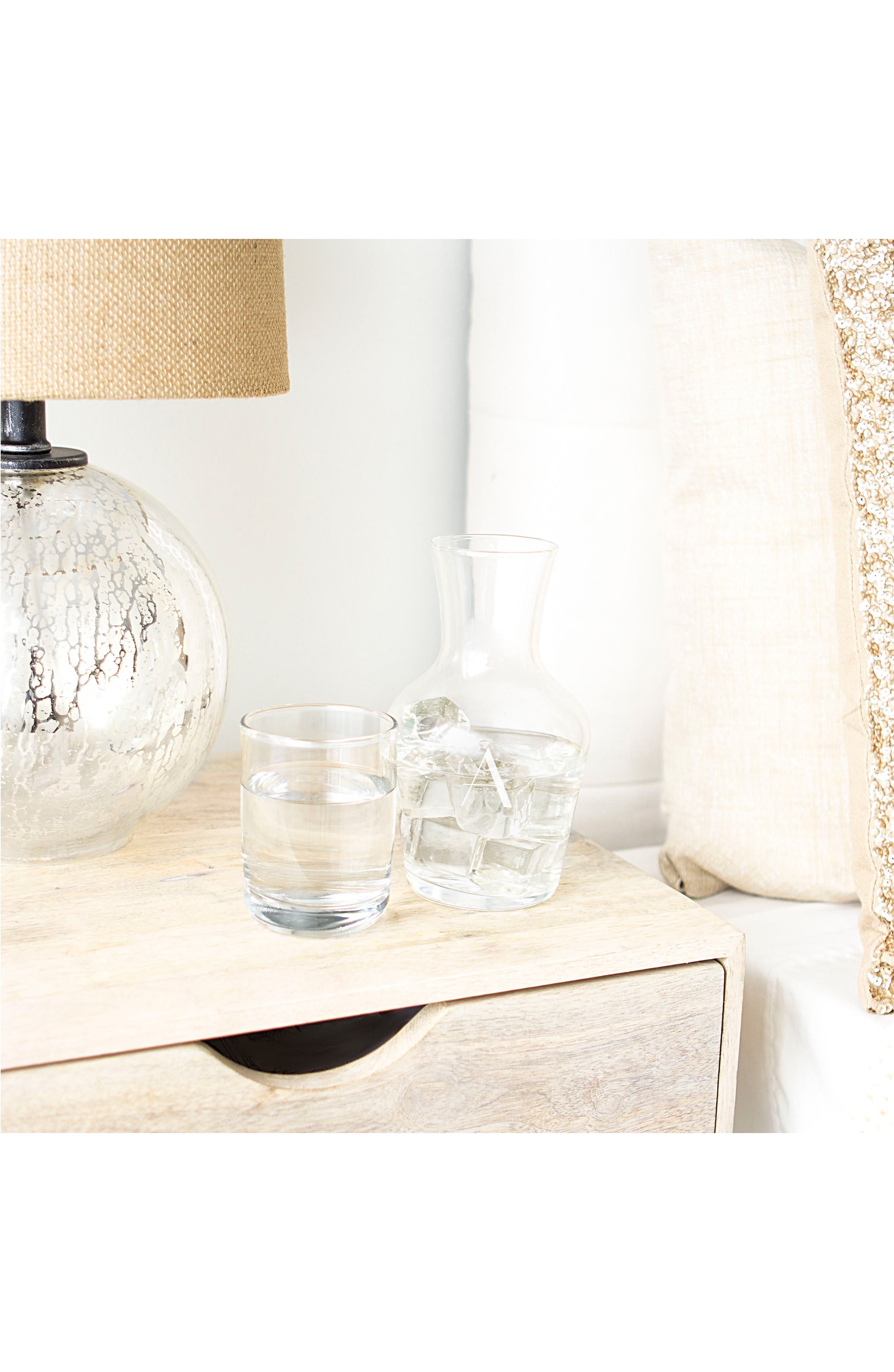 Bedside Water Carafe & Glass Set,                             Alternate thumbnail 28, color,