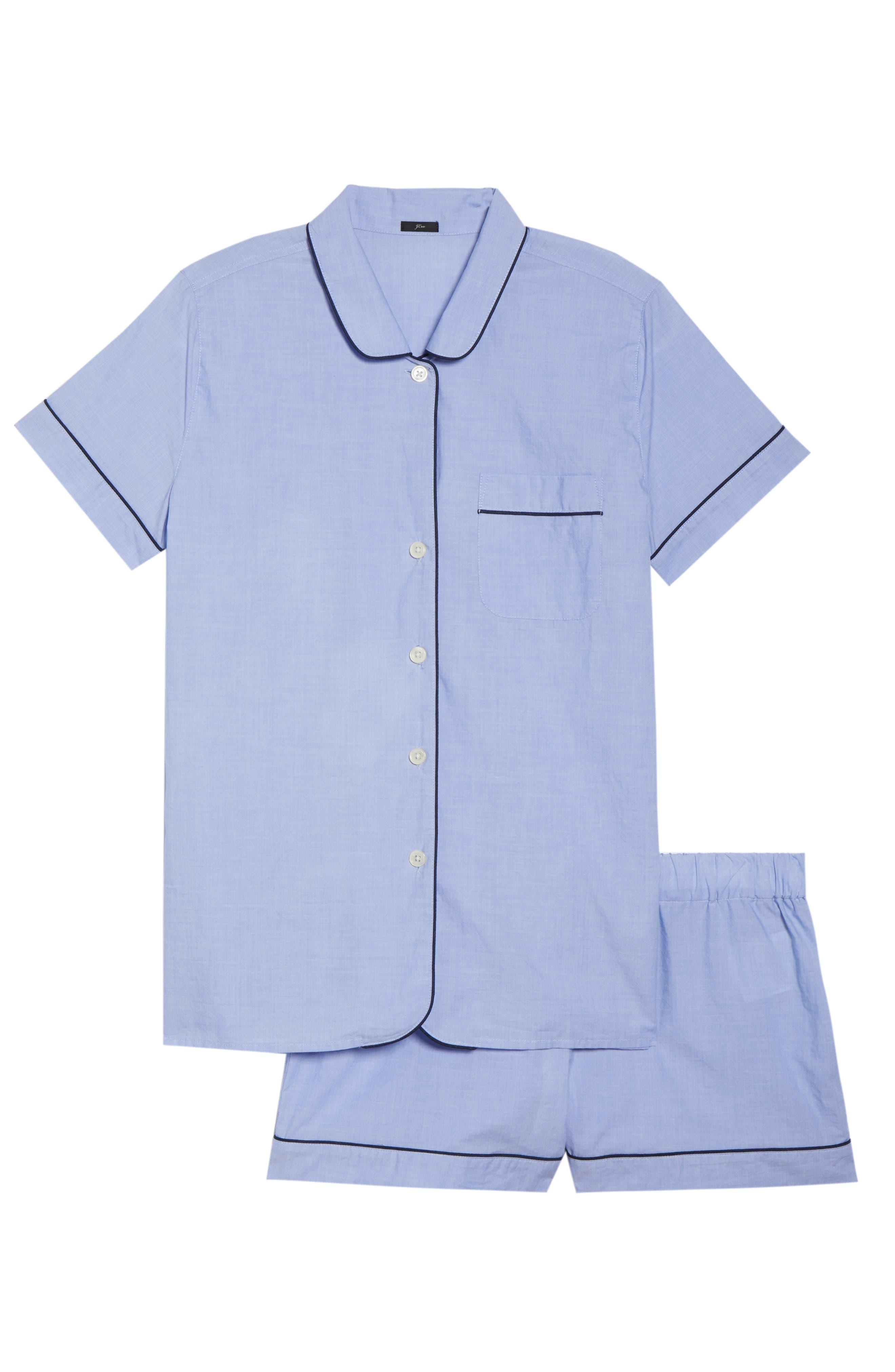 Tipped Short Pajamas,                             Alternate thumbnail 6, color,                             400