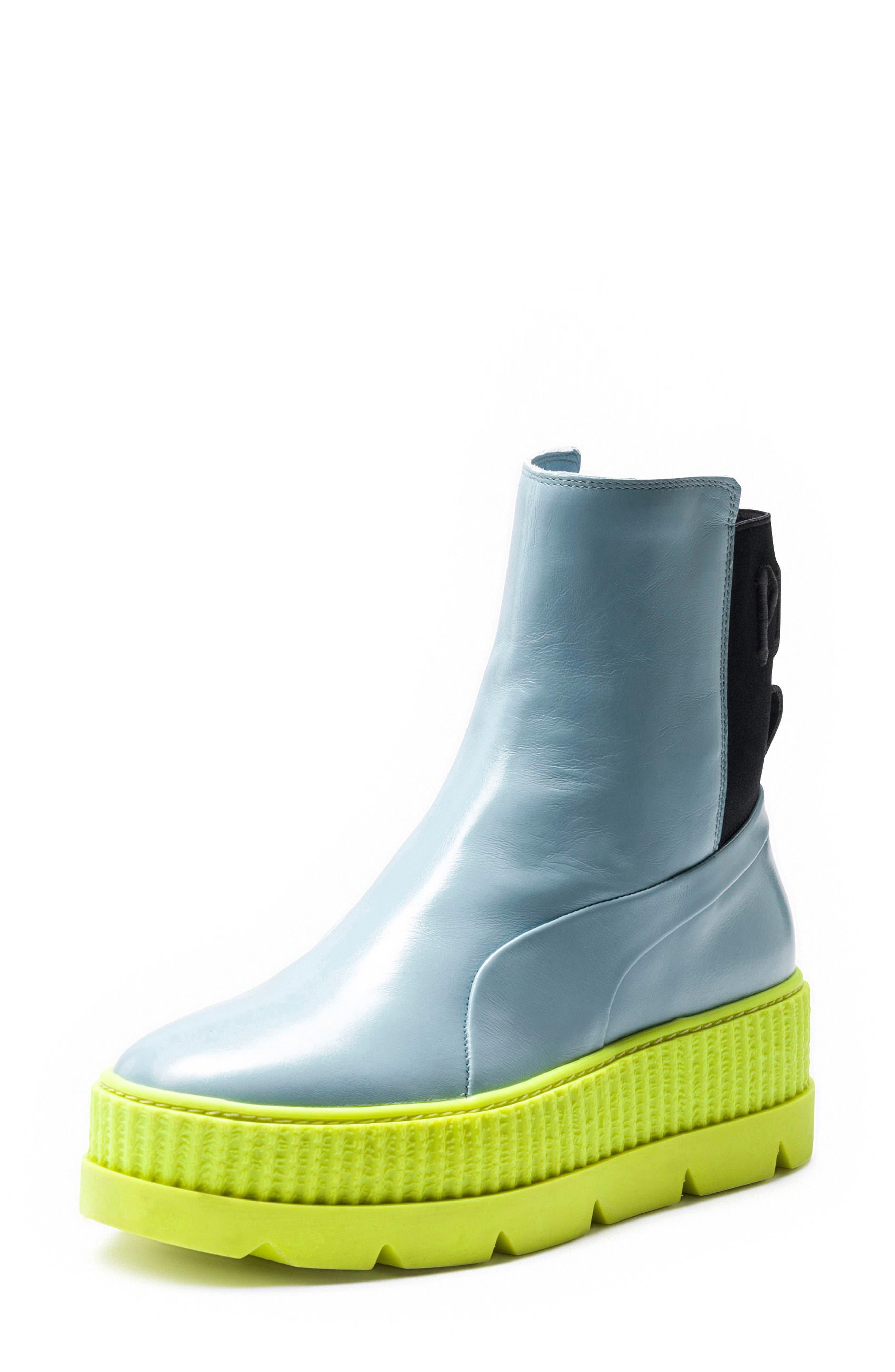 FENTY PUMA by Rihanna Chelsea Boot Creeper Sneaker,                             Main thumbnail 3, color,