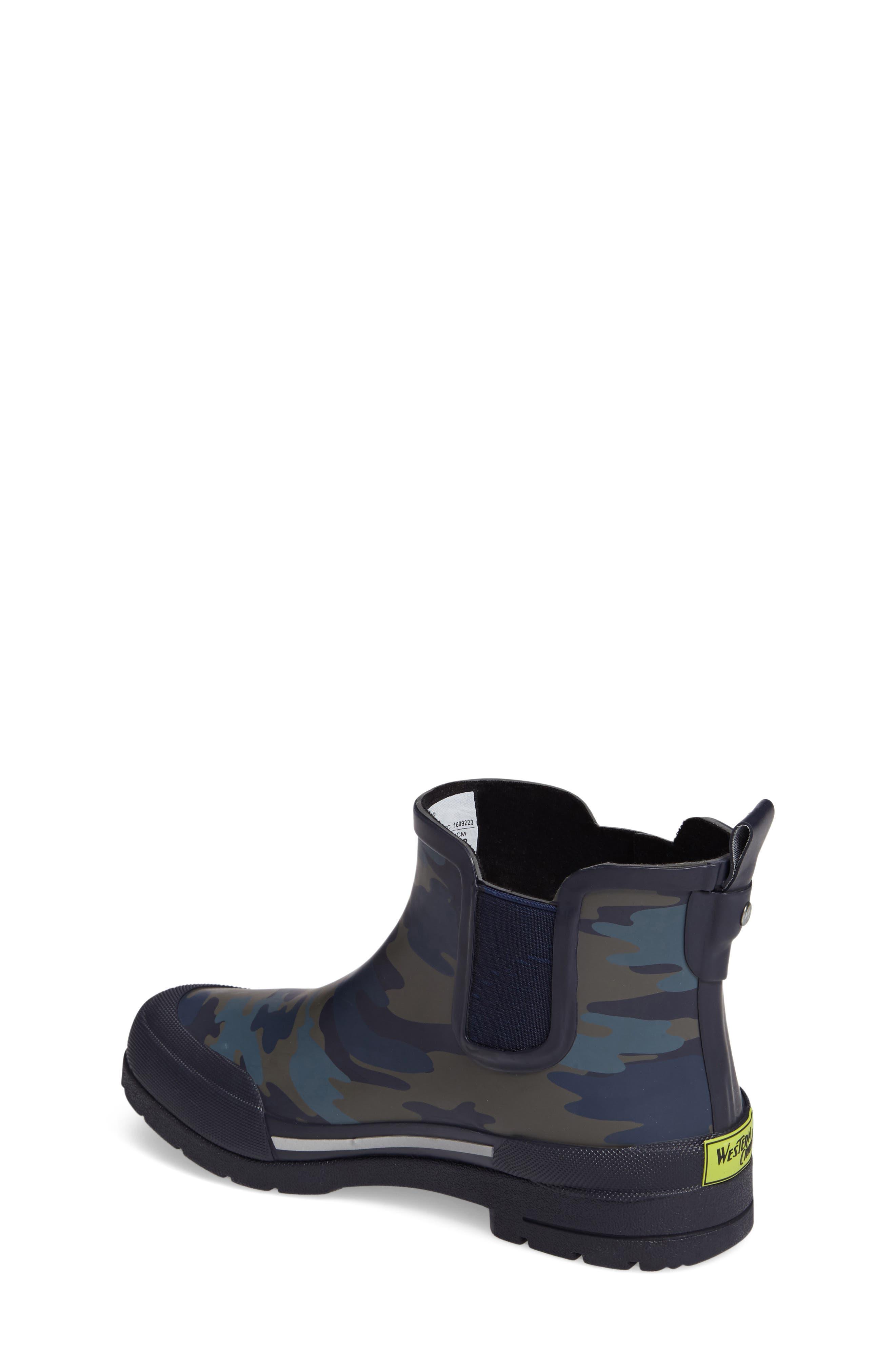 Classic EX Camo Chelsea Rain Boot,                             Alternate thumbnail 2, color,                             421