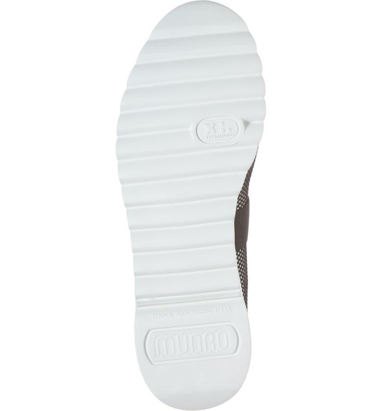 1057142778c Shop Munro Alta Slip-On Sneaker In Black  White Fabric