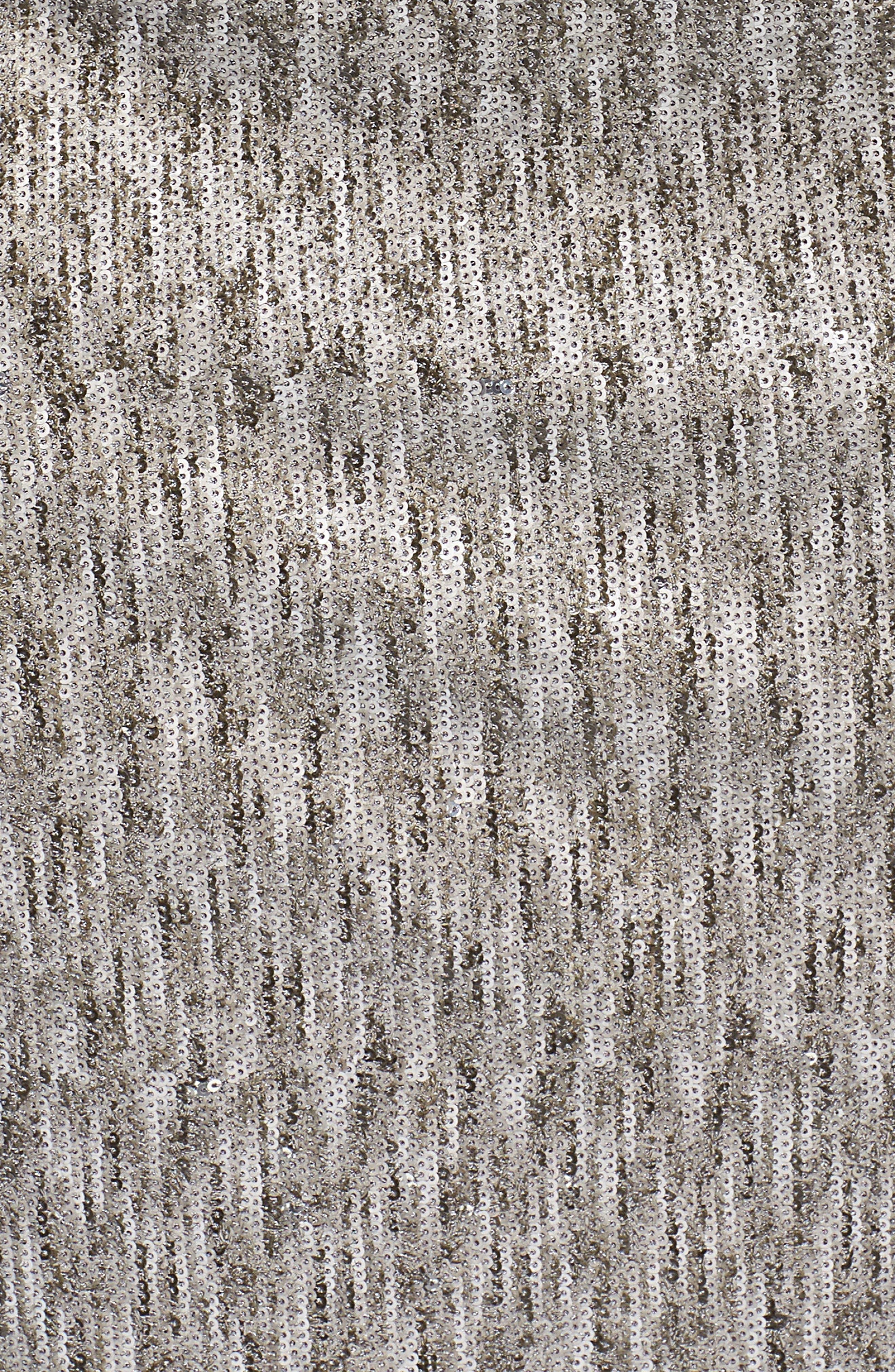 Bell Sleeve Sequin Sheath Dress,                             Alternate thumbnail 5, color,                             080