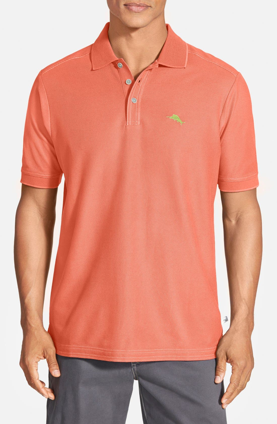 'The Emfielder' Original Fit Piqué Polo,                             Main thumbnail 119, color,
