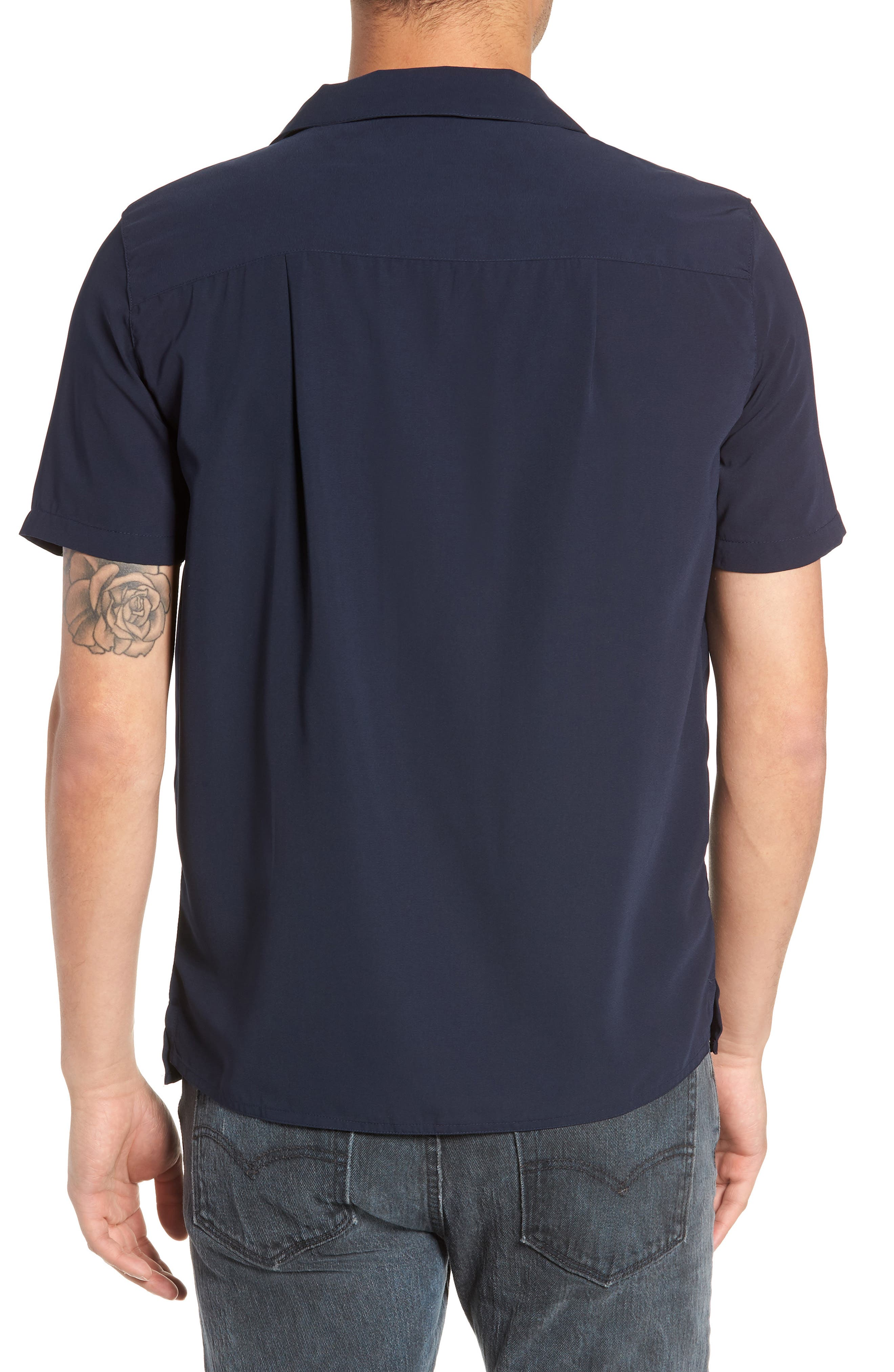 York Woven Shirt,                             Alternate thumbnail 3, color,                             400