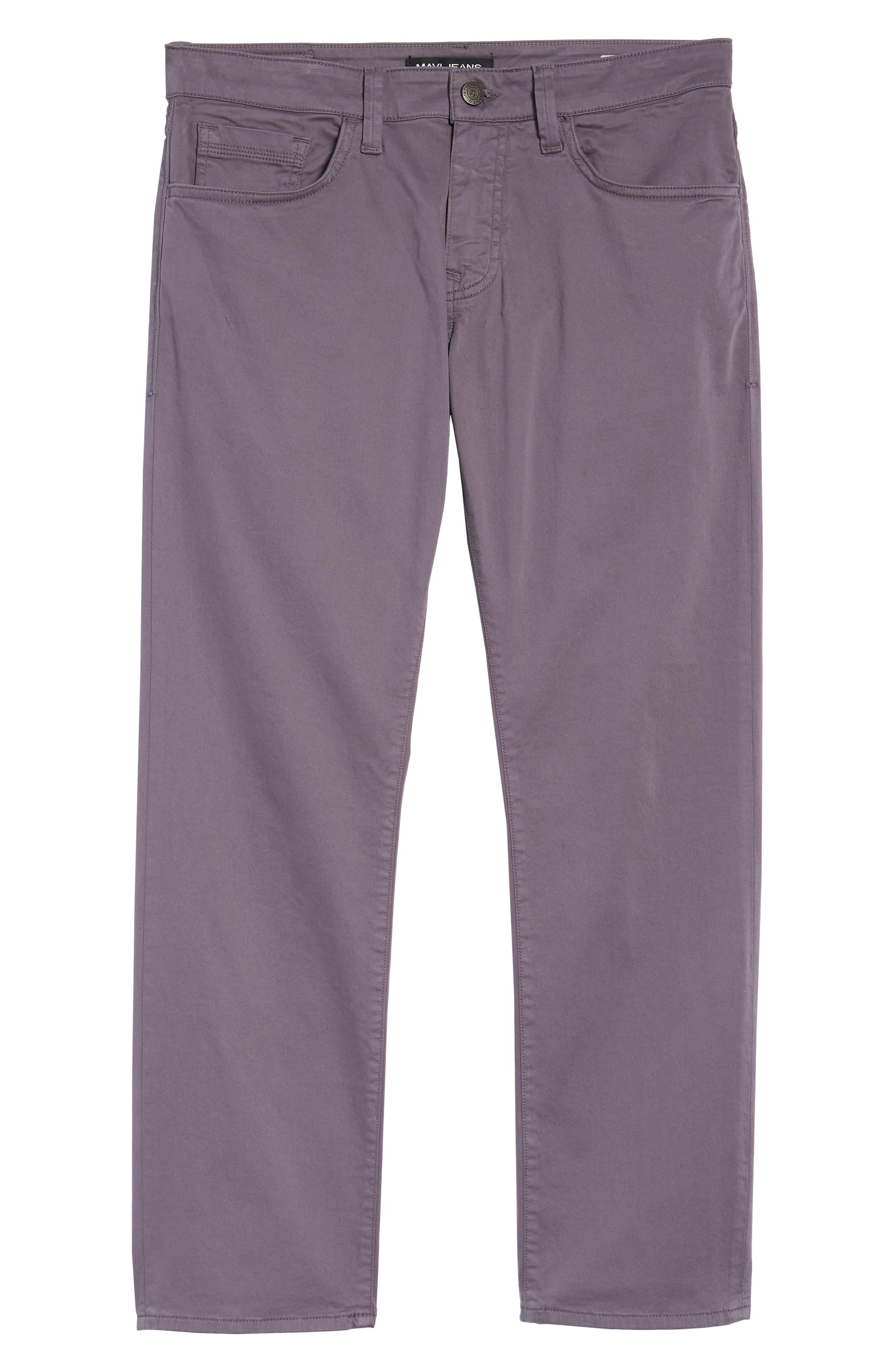 MAVI JEANS,                             Zach Straight Fit Twill Pants,                             Alternate thumbnail 6, color,                             050