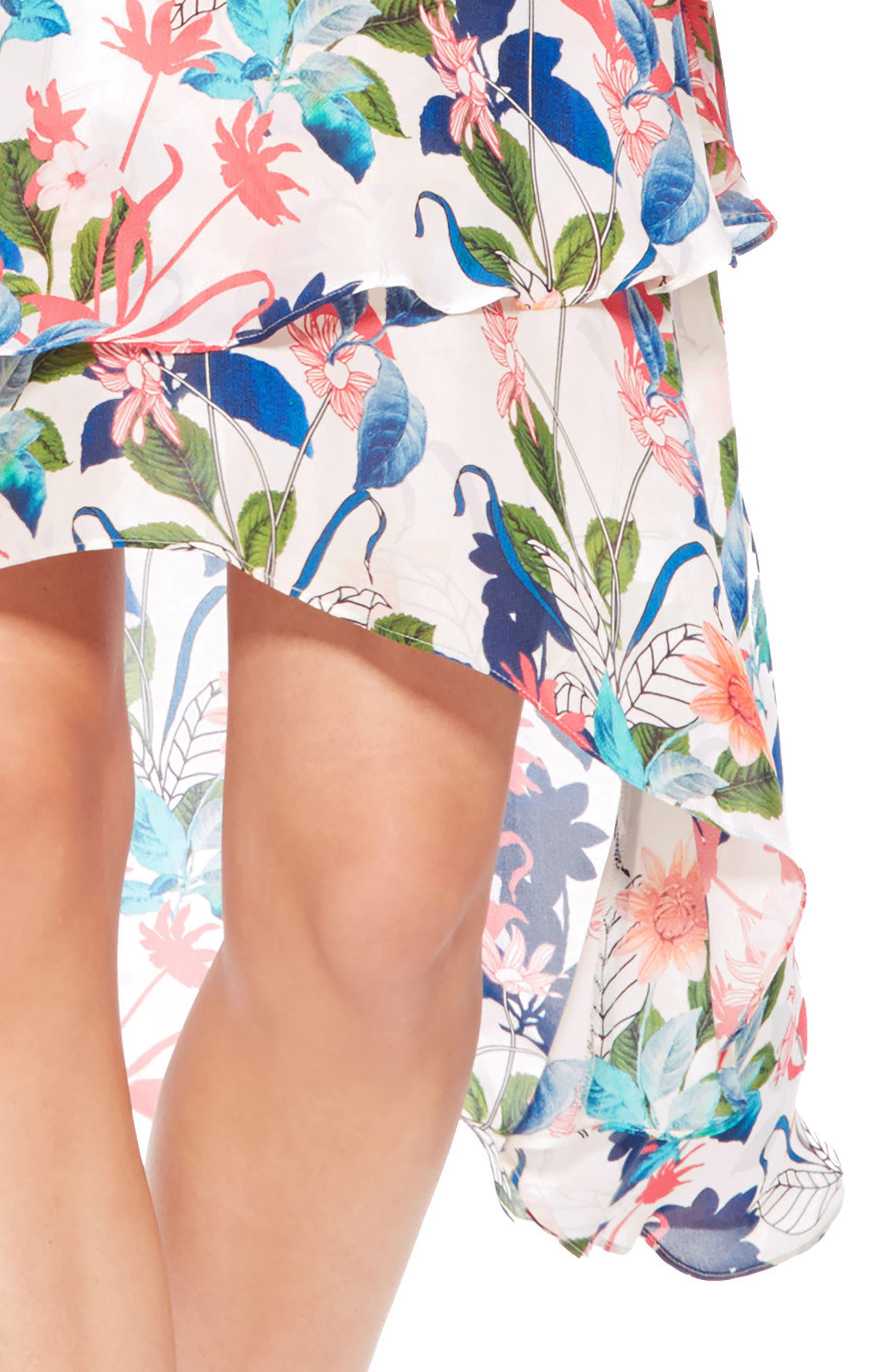 Allister Silk Dress,                             Alternate thumbnail 4, color,                             170