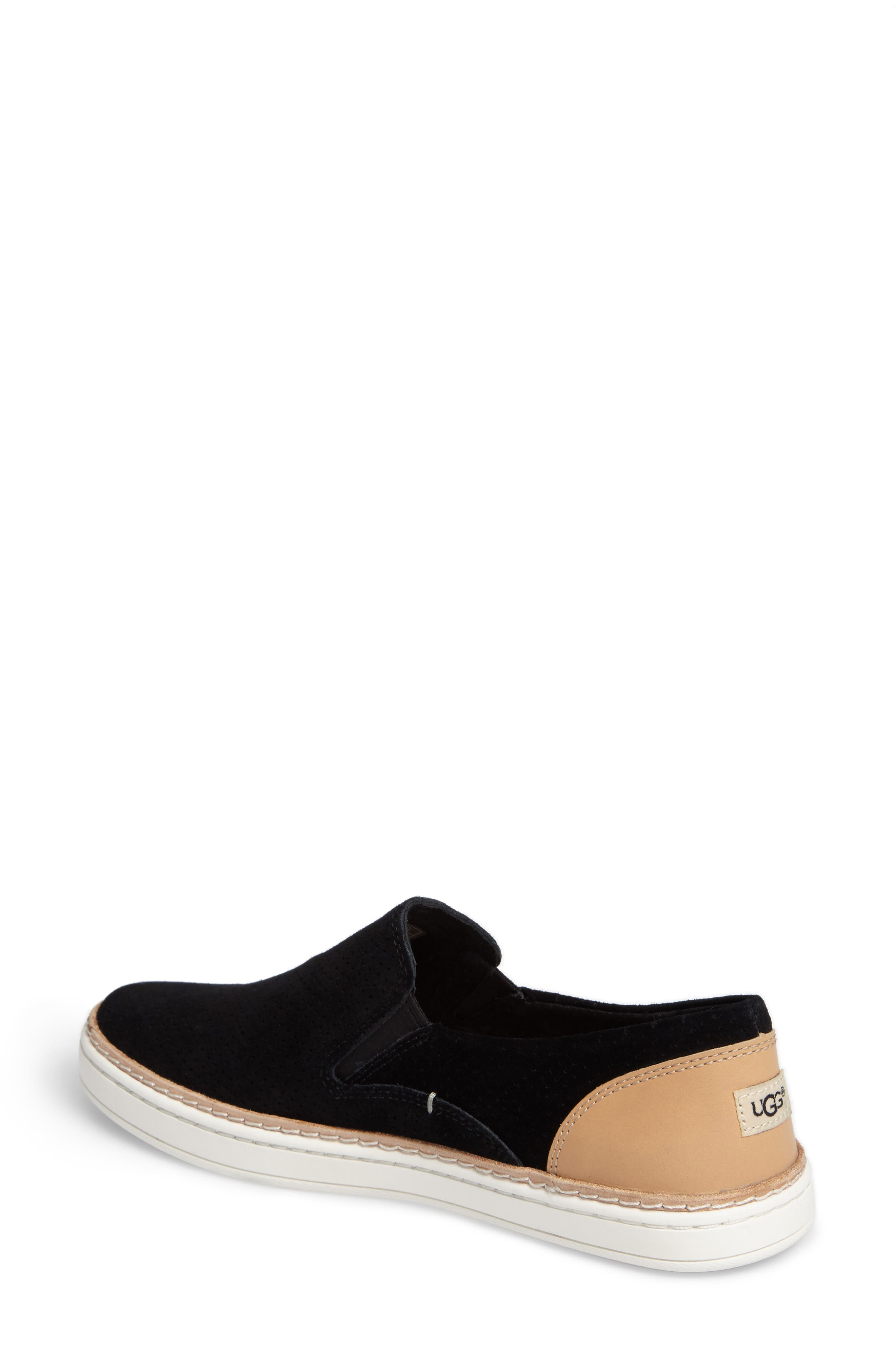 Adley Slip-On Sneaker,                             Alternate thumbnail 2, color,                             001
