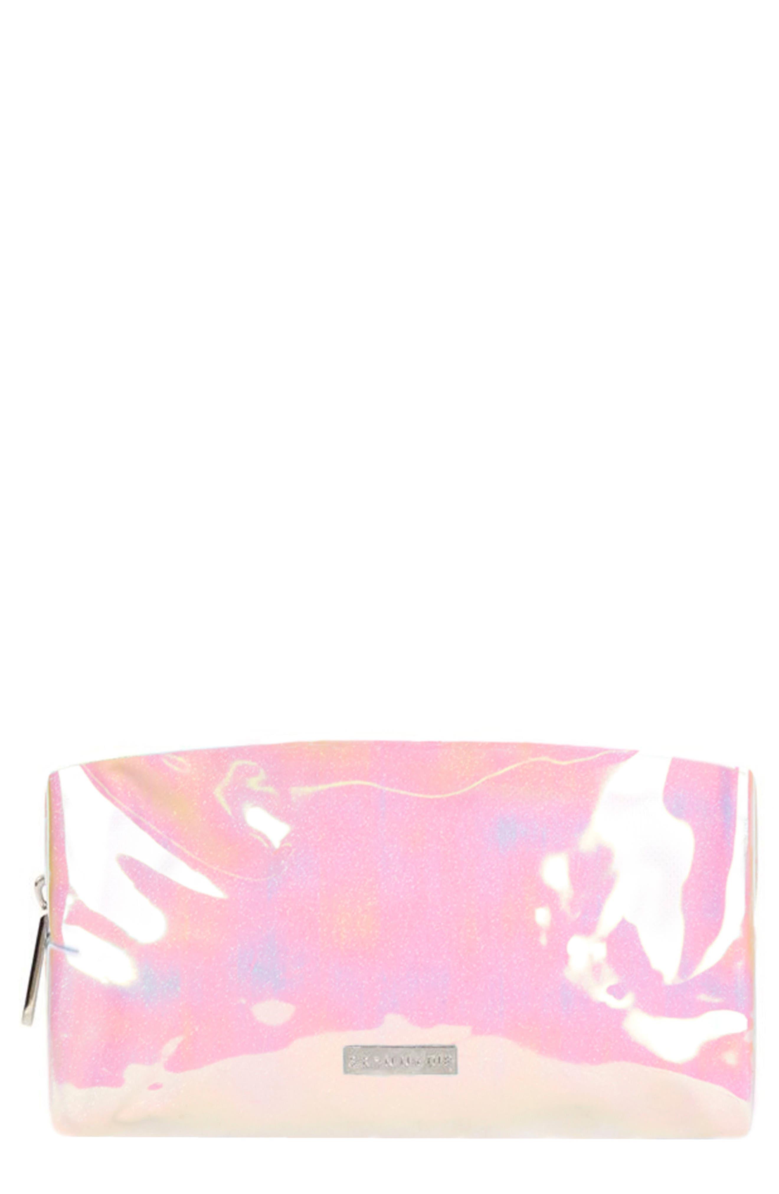Skinny Dip Wave Cosmetics Case,                         Main,                         color, NO COLOR