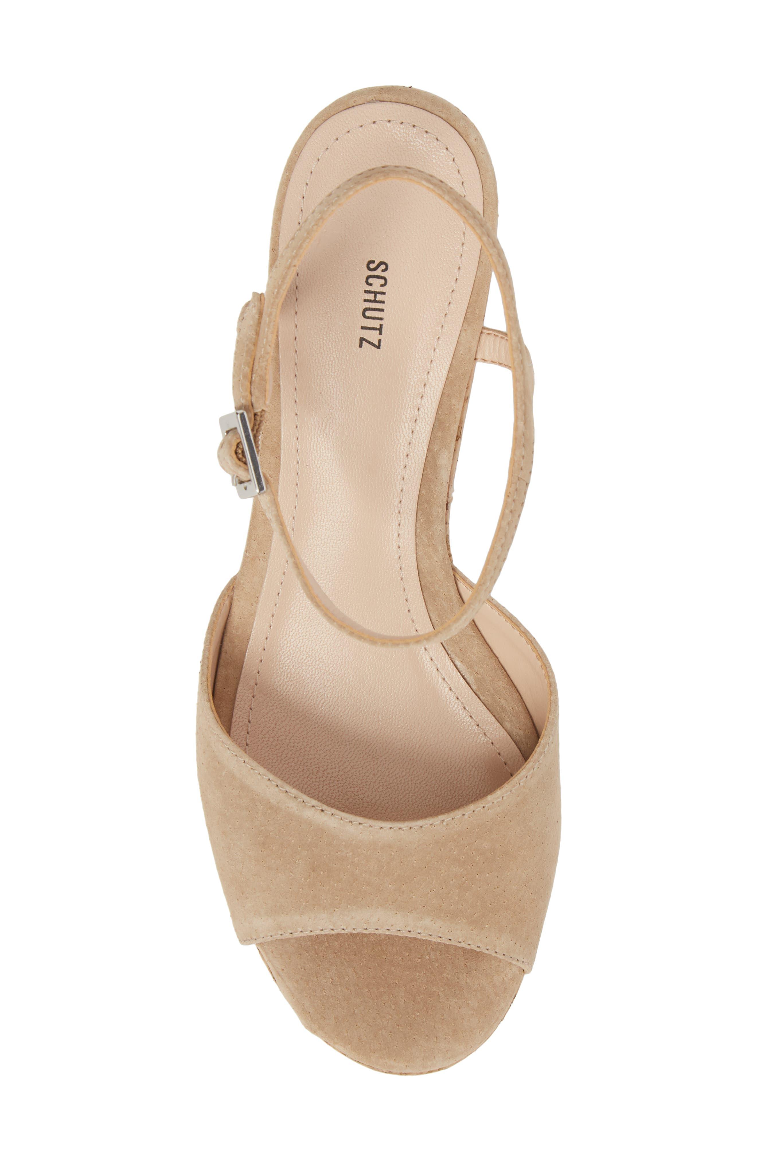 Heloise Platform Wedge Sandal,                             Alternate thumbnail 5, color,                             250