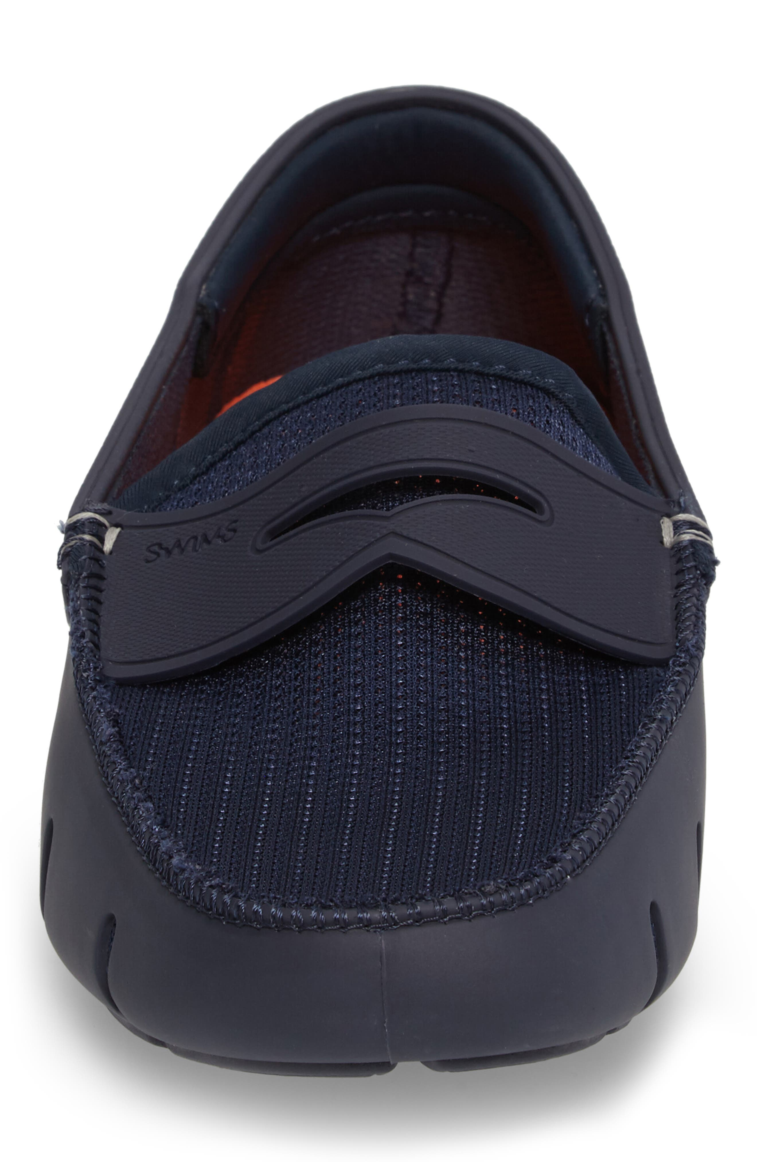 Penny Loafer,                             Alternate thumbnail 4, color,                             NAVY/NAVY