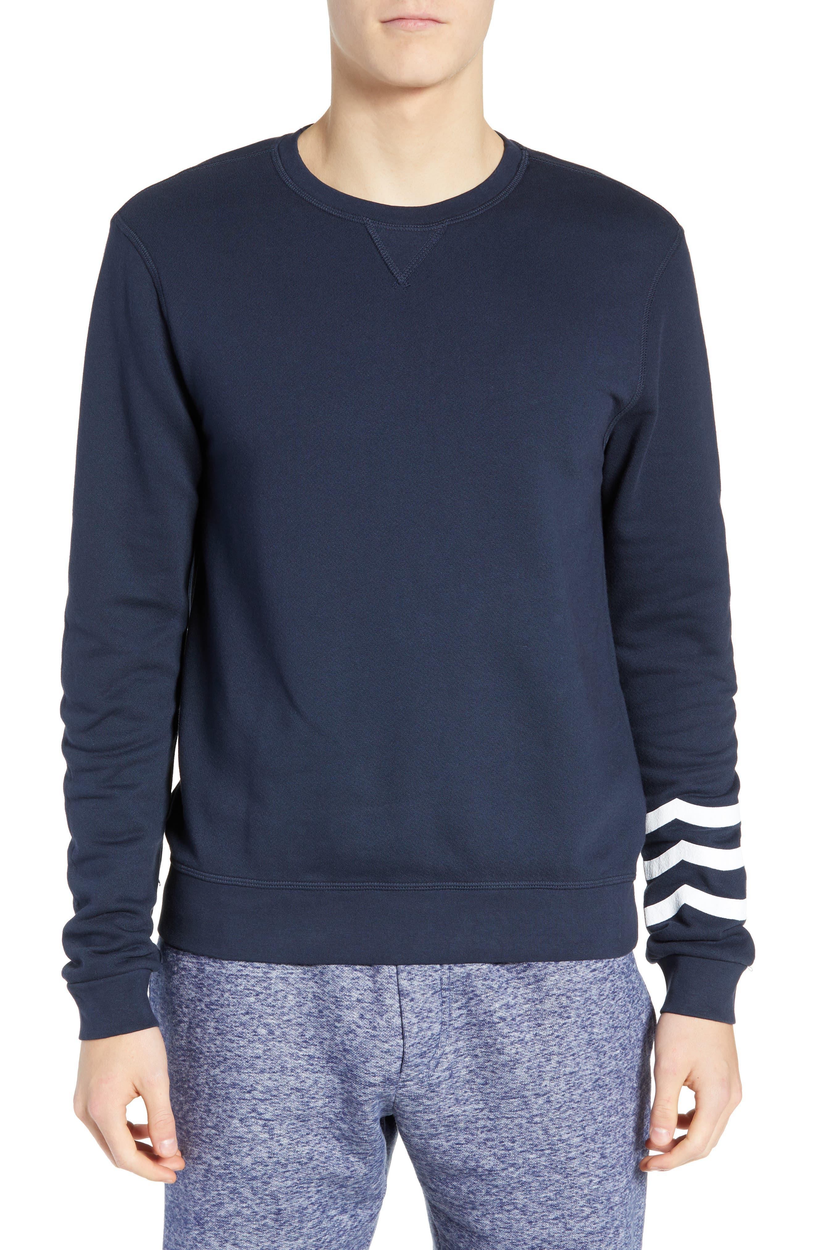 SOL ANGELES Essential Crewneck Sweatshirt in Indigo