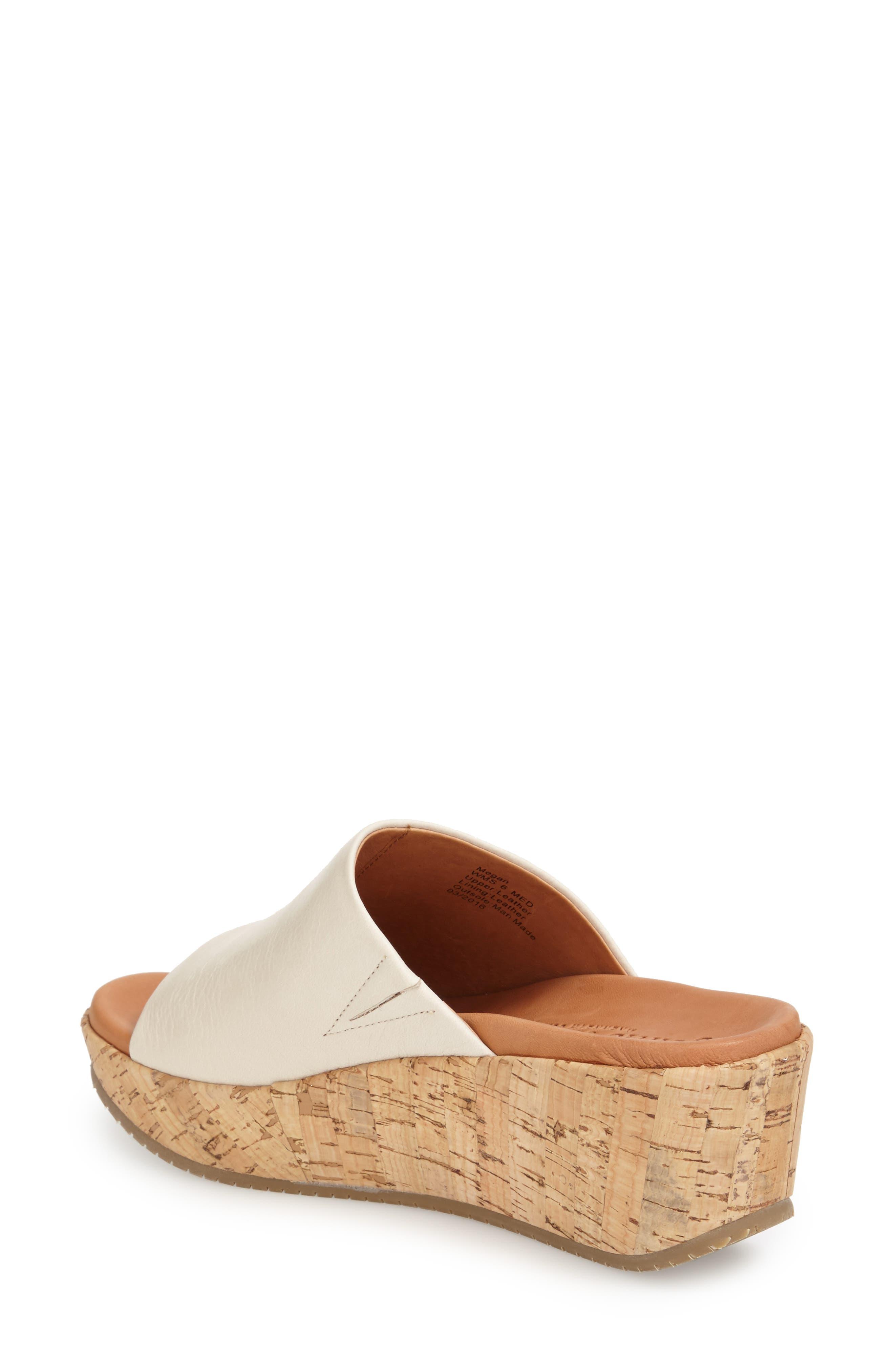 'Megan' Platform Wedge Sandal,                             Alternate thumbnail 3, color,                             053