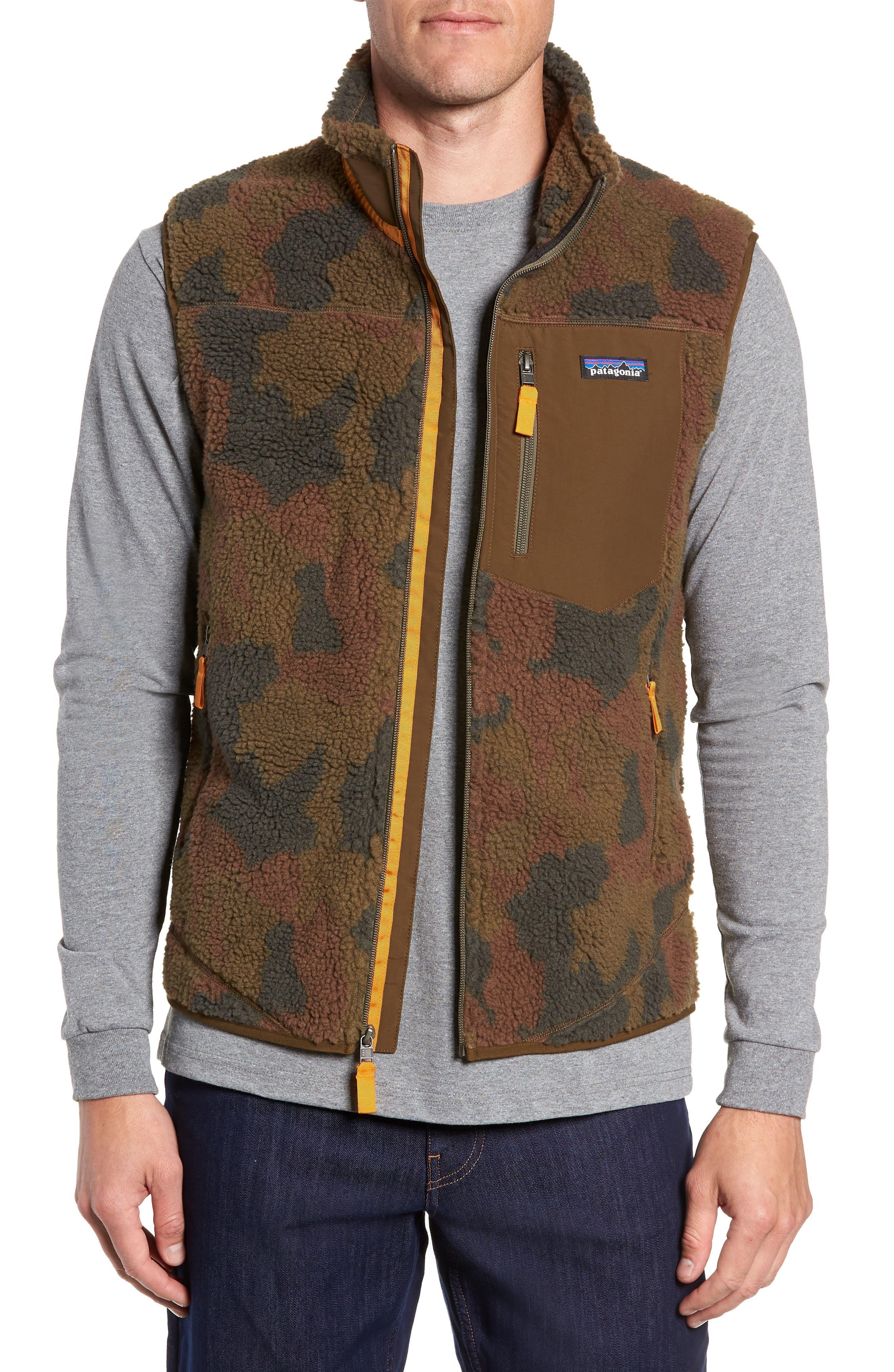 Classic Retro-X<sup>®</sup> Windproof Vest,                         Main,                         color, BUNKER CAMO CARGO GREEN