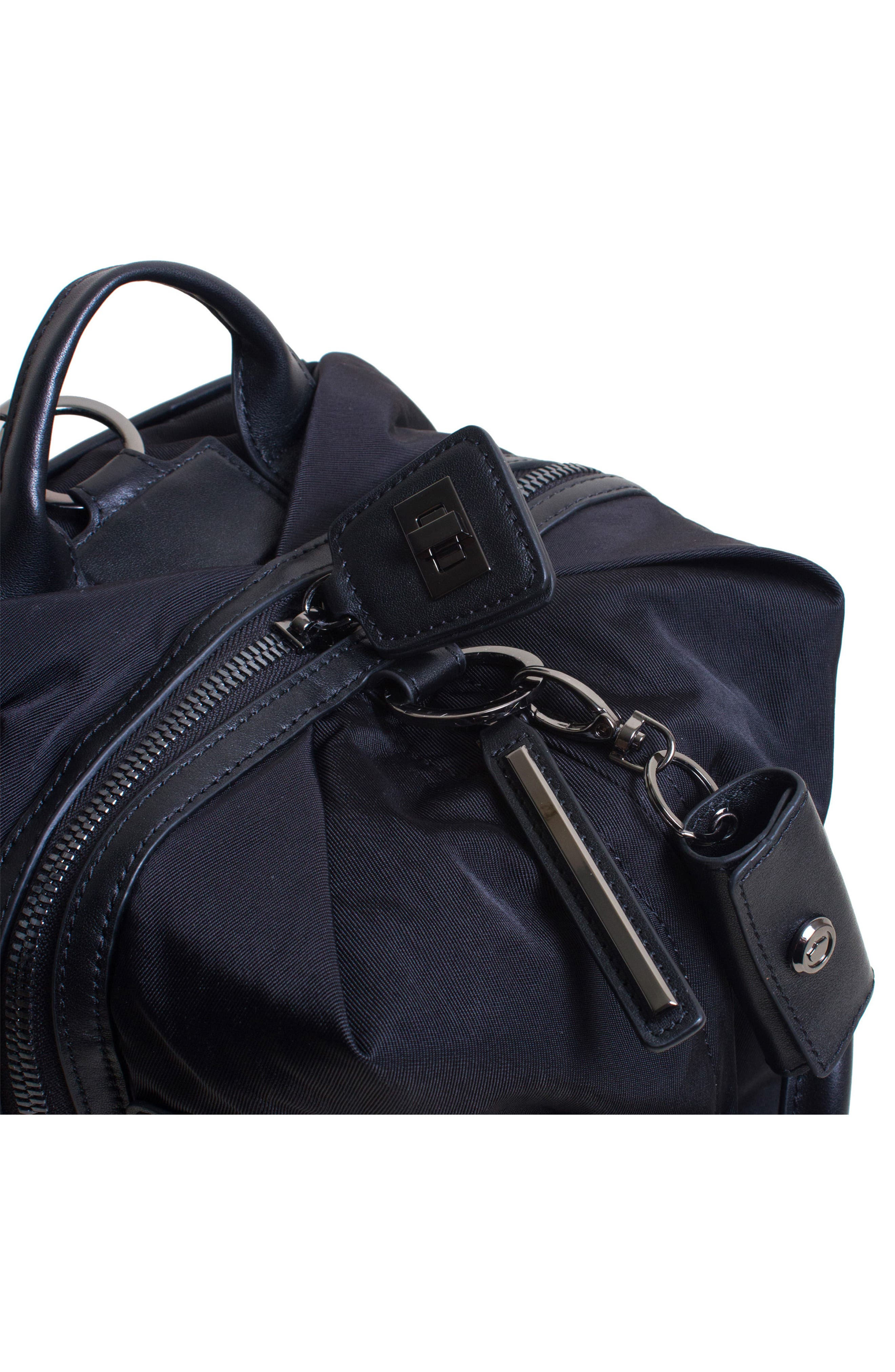 Studio Medium Duffel Backpack,                             Alternate thumbnail 6, color,                             BLACK