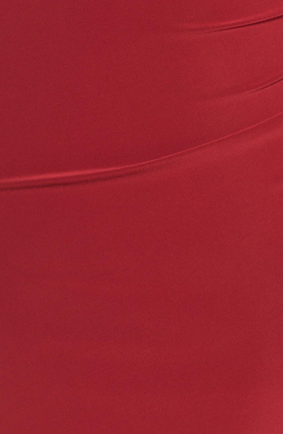 Embellished Drape Back Jersey Cocktail Dress,                             Alternate thumbnail 6, color,                             606