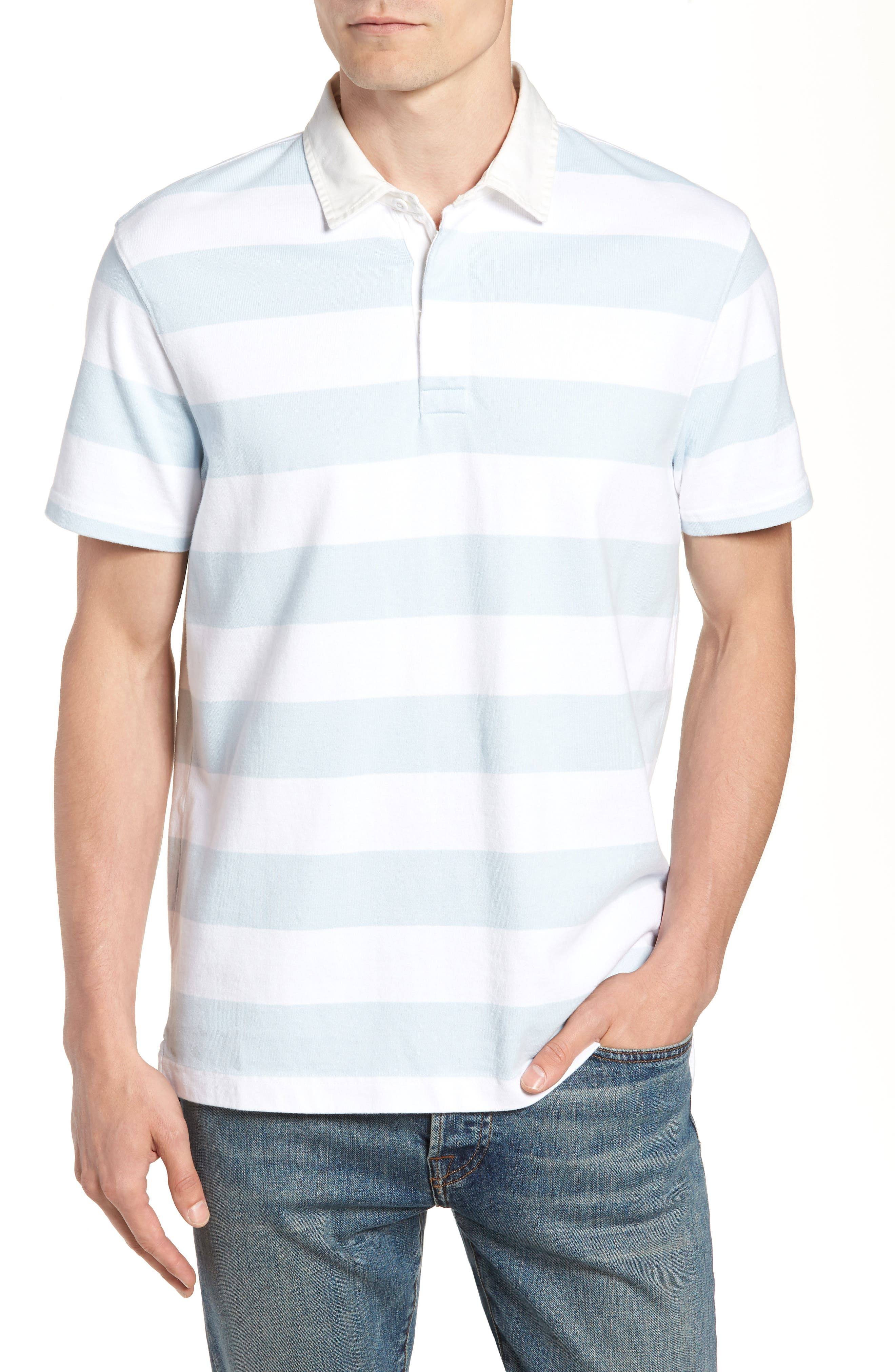 J.CREW 1984 Rugby Shirt, Main, color, 100