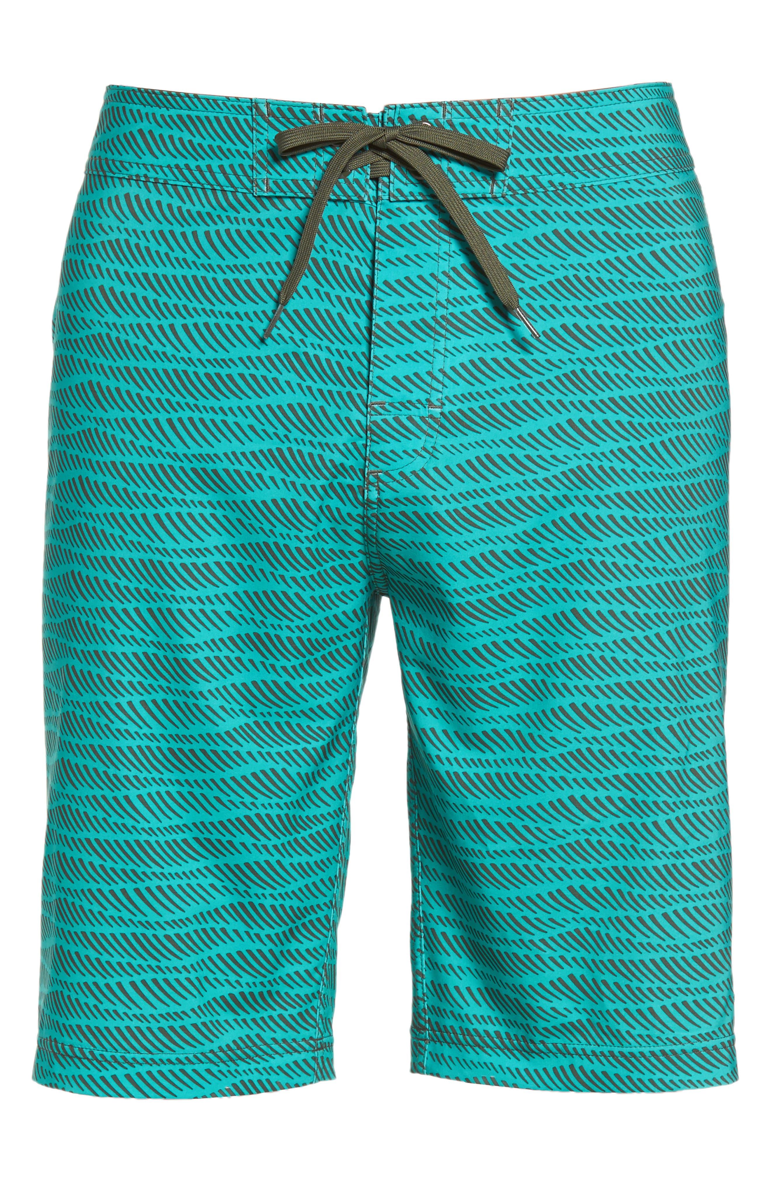 'Sediment' Stretch Board Shorts,                             Alternate thumbnail 81, color,