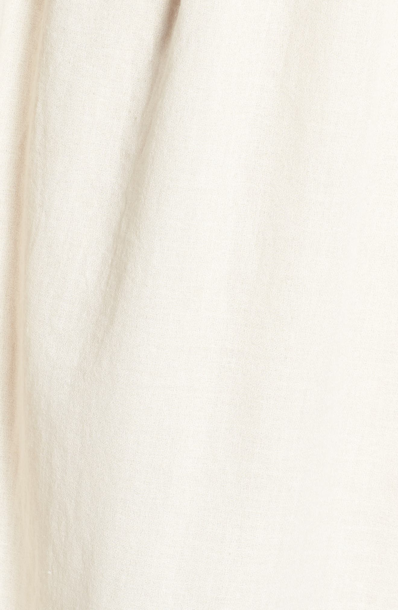 Embroidered Shift Dress,                             Alternate thumbnail 5, color,                             110