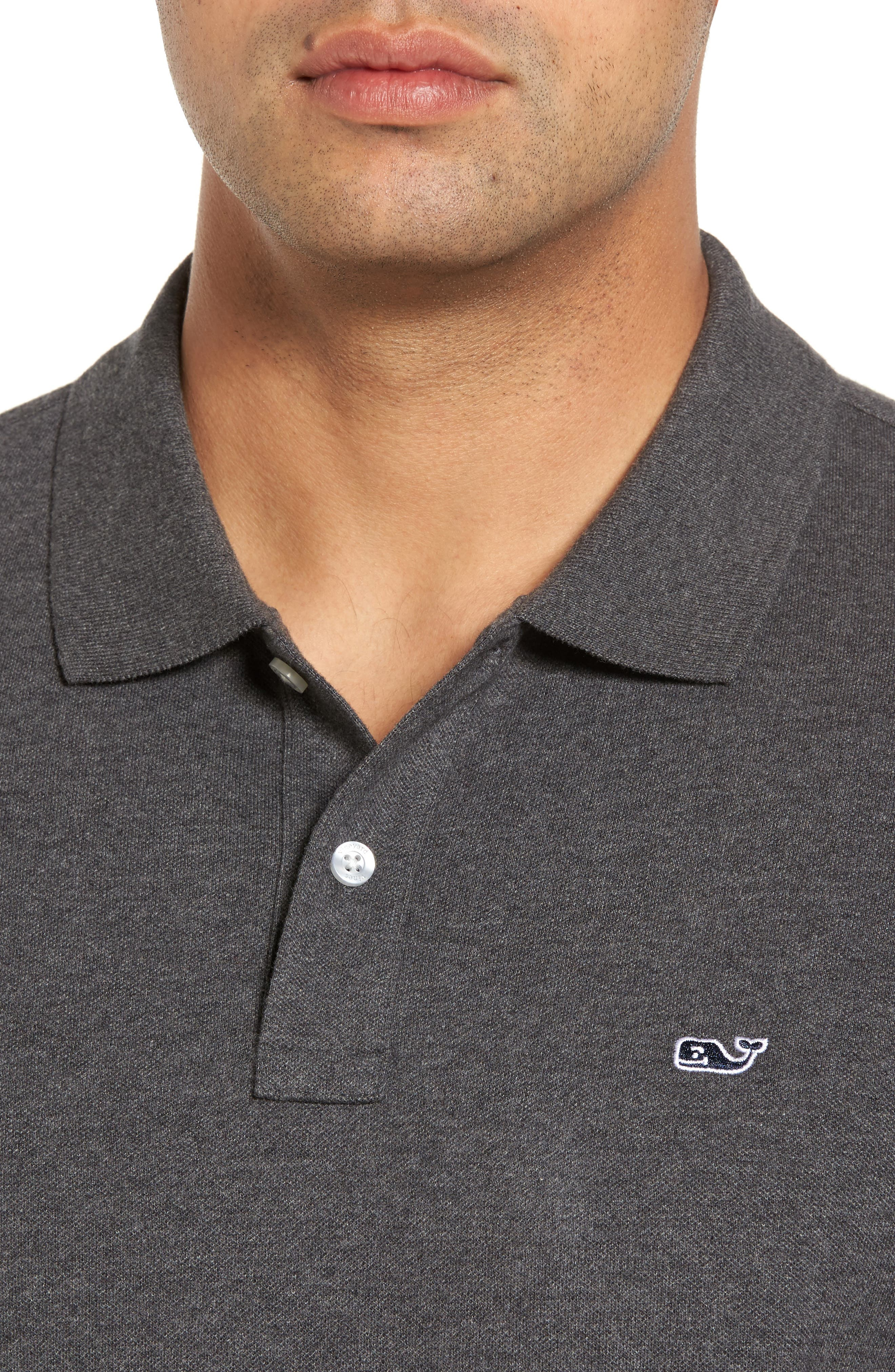 Long Sleeve Polo,                             Alternate thumbnail 4, color,                             025