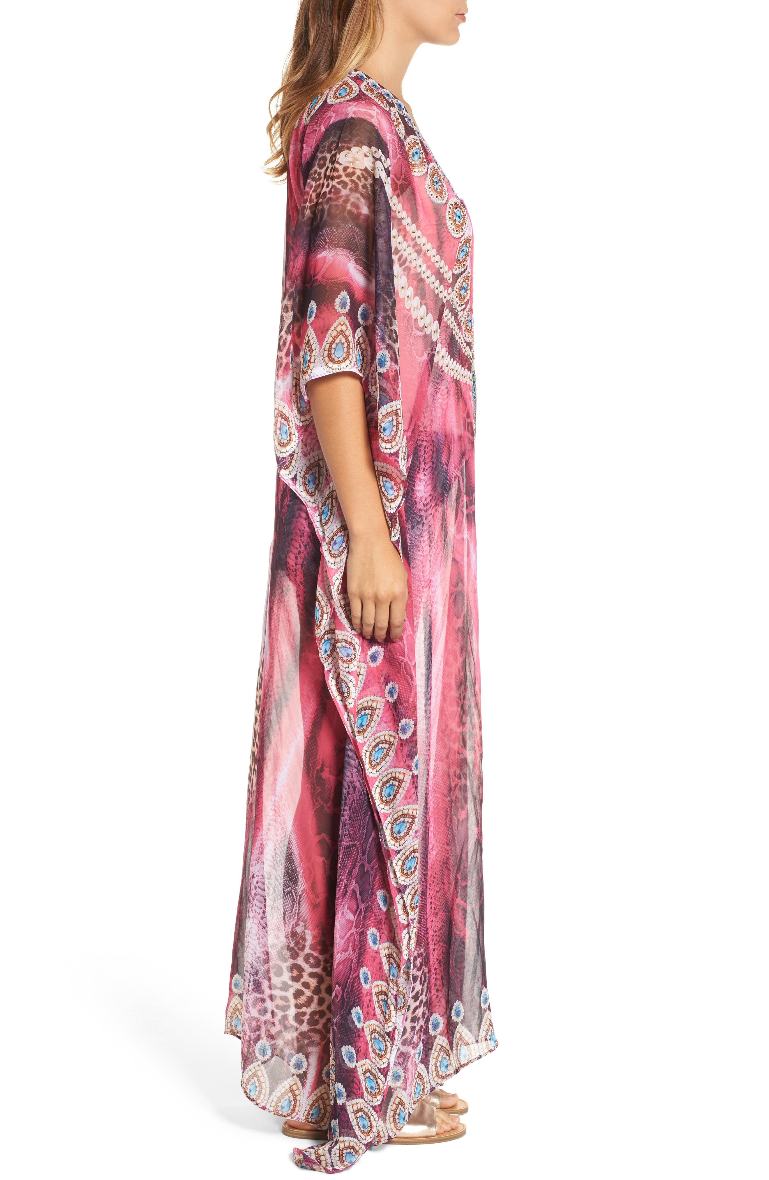 Marrakesh Long Kaftan,                             Alternate thumbnail 3, color,