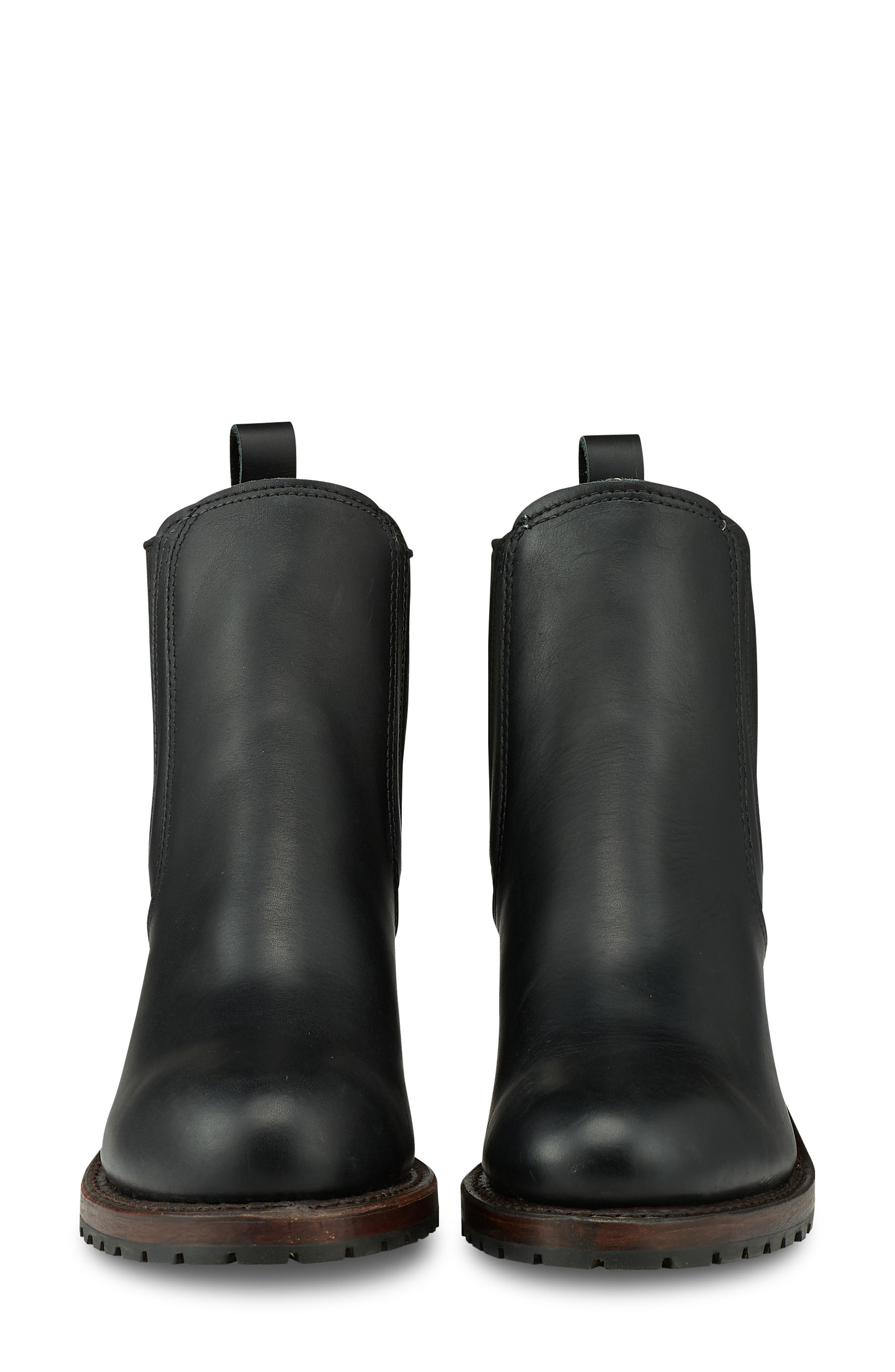 RED WING,                             Harriet Boot,                             Alternate thumbnail 3, color,                             BLACK BOUNDARY LEATHER