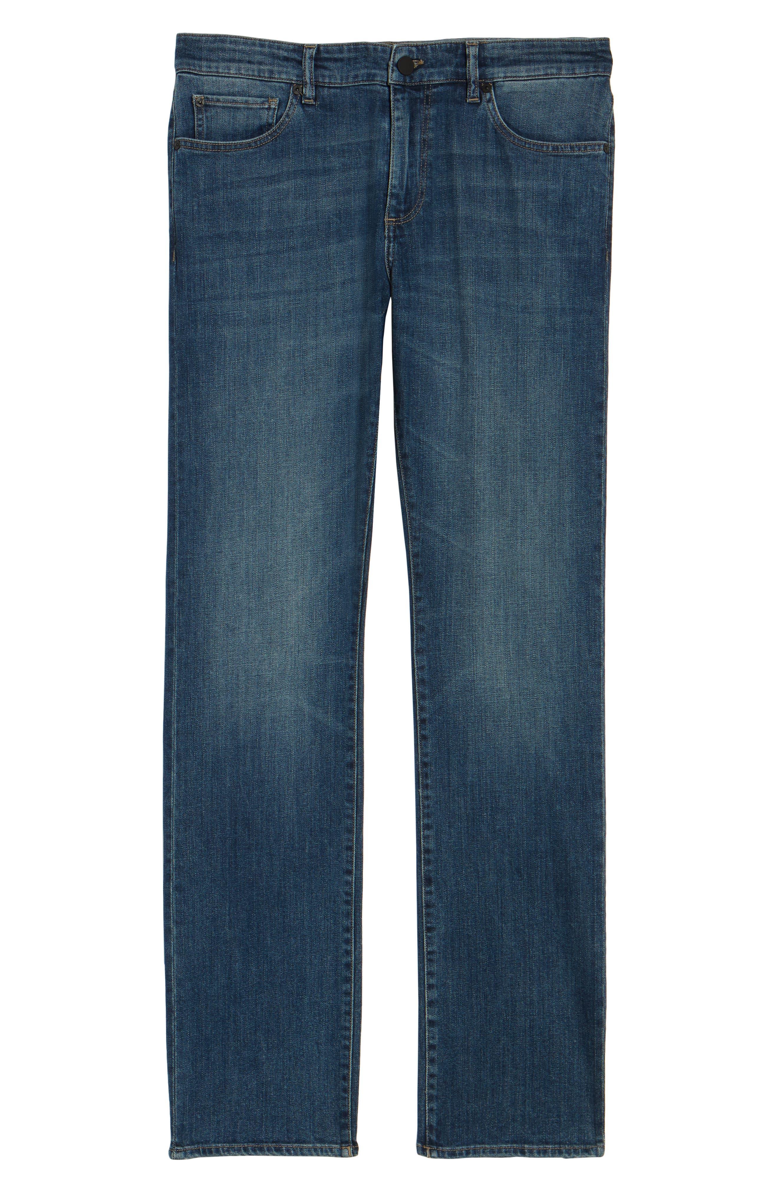 Avery Slim Straight Leg Jeans,                             Alternate thumbnail 6, color,