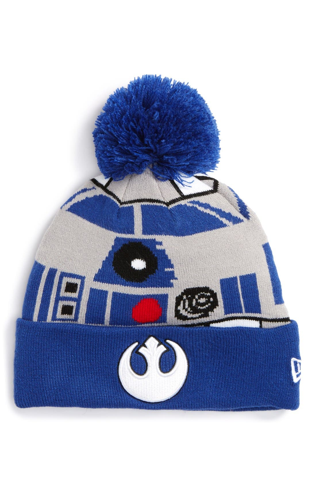 d18cd215fe2 ... beanie ef297 2b277  purchase star warssup sup r2d2 pompom knit a3444  c5be1