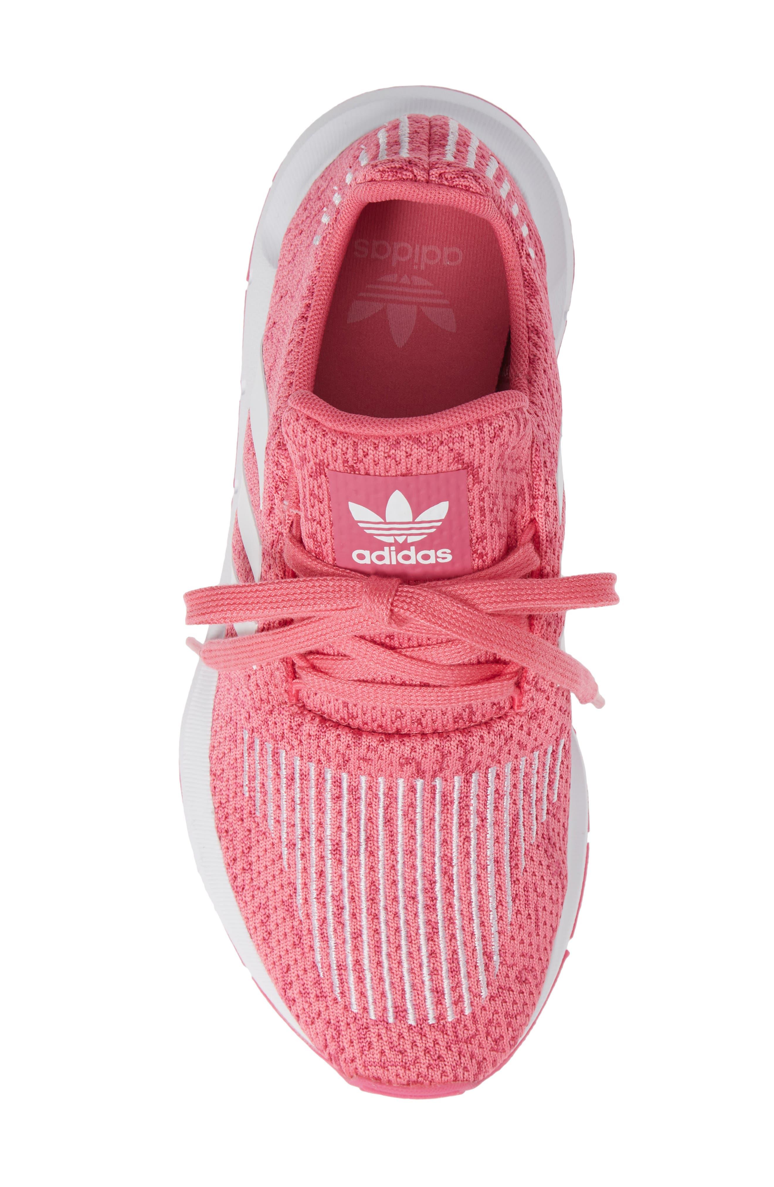 Swift Run J Sneaker,                             Alternate thumbnail 5, color,                             SEMI SOLAR PINK/ WHITE