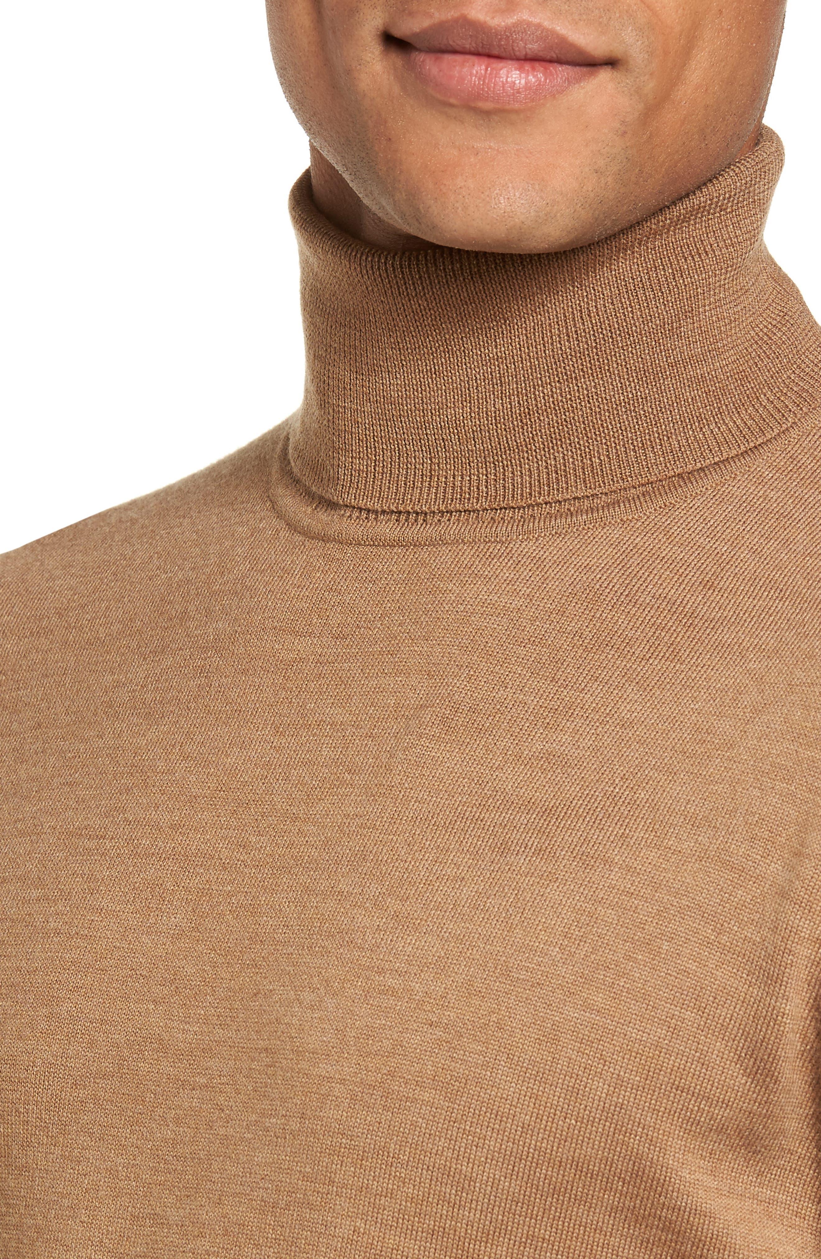 Merino Wool Turtleneck Sweater,                             Alternate thumbnail 22, color,