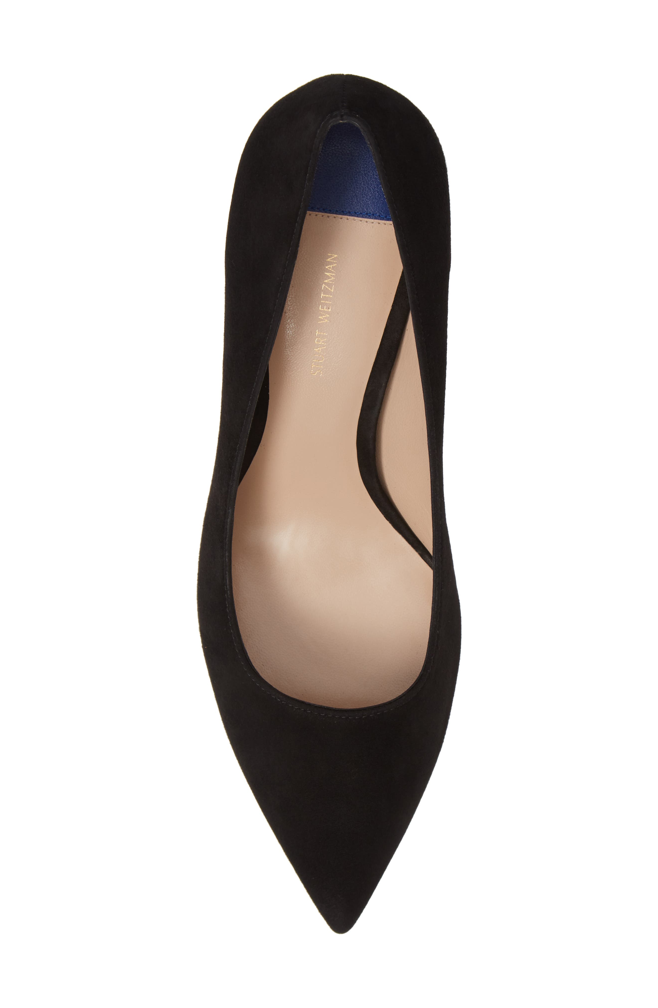 Tippi 70 Pointy Toe Pump,                             Alternate thumbnail 5, color,                             PITCH BLACK