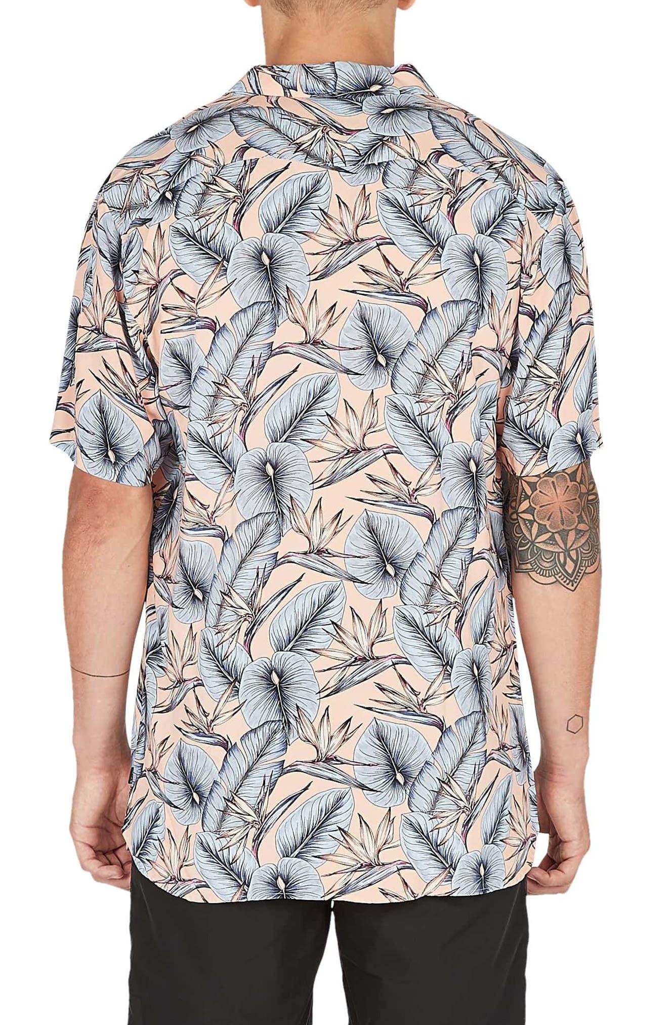 Holiday Woven Shirt,                             Alternate thumbnail 2, color,                             PARADISE