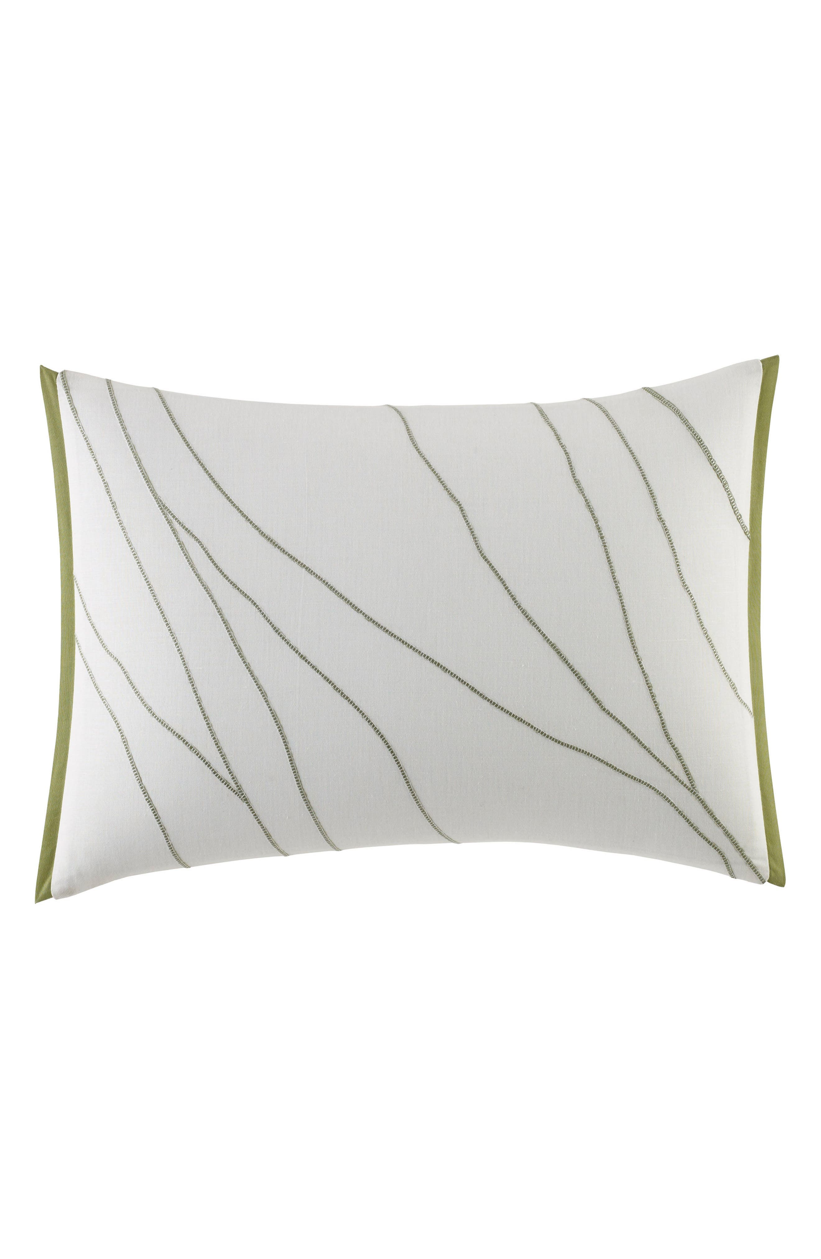 Dragonfly Accent Pillow,                         Main,                         color, WHITE