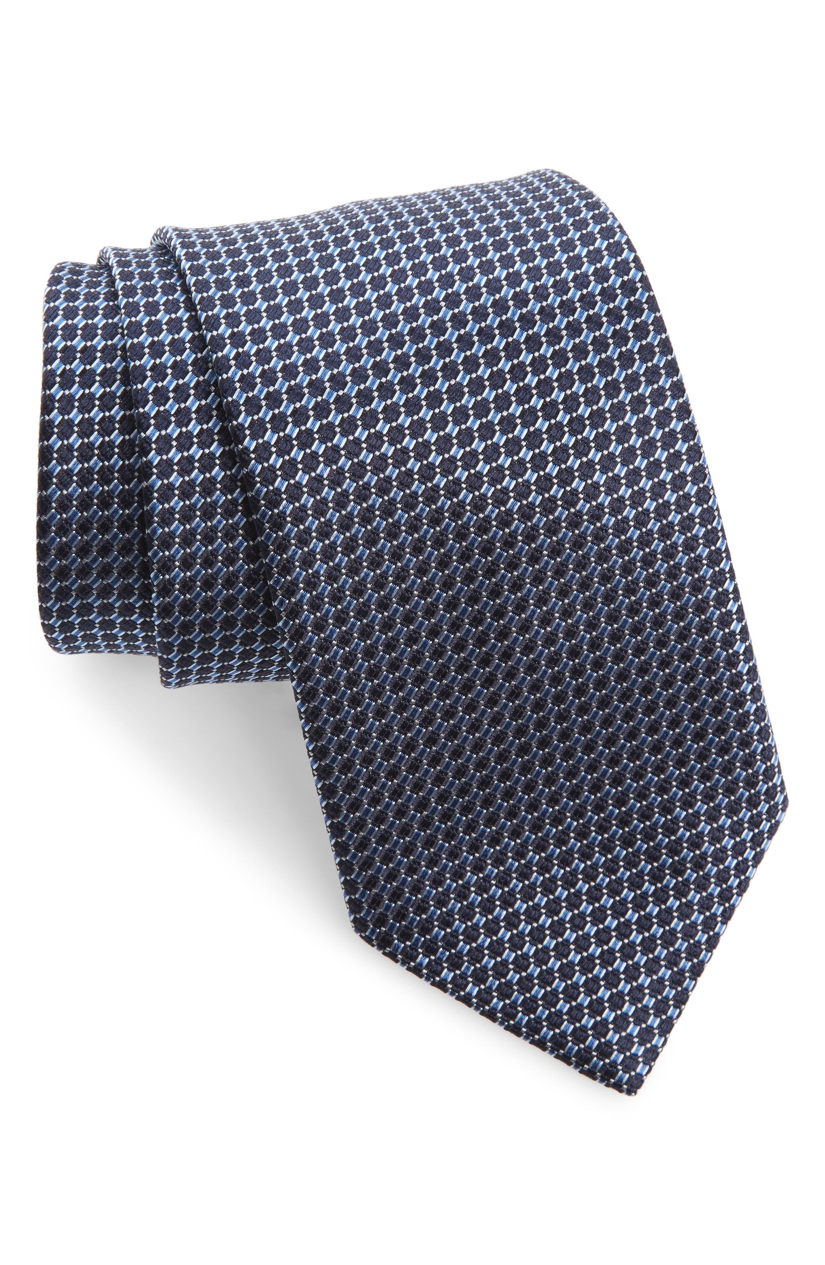 Solid Silk Tie,                         Main,                         color, 467