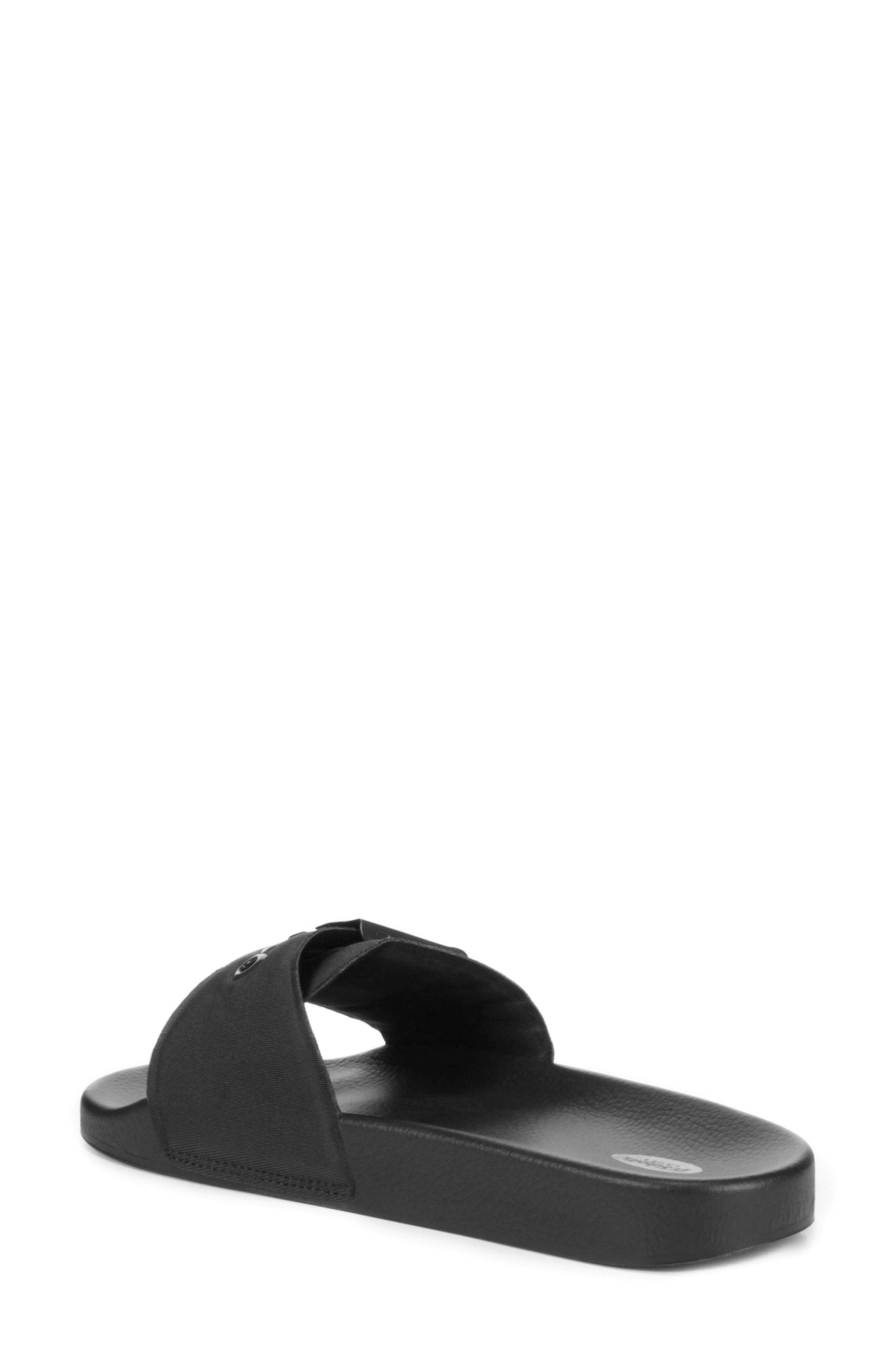 Original Pool Slide Sandal,                             Alternate thumbnail 2, color,                             BLACK