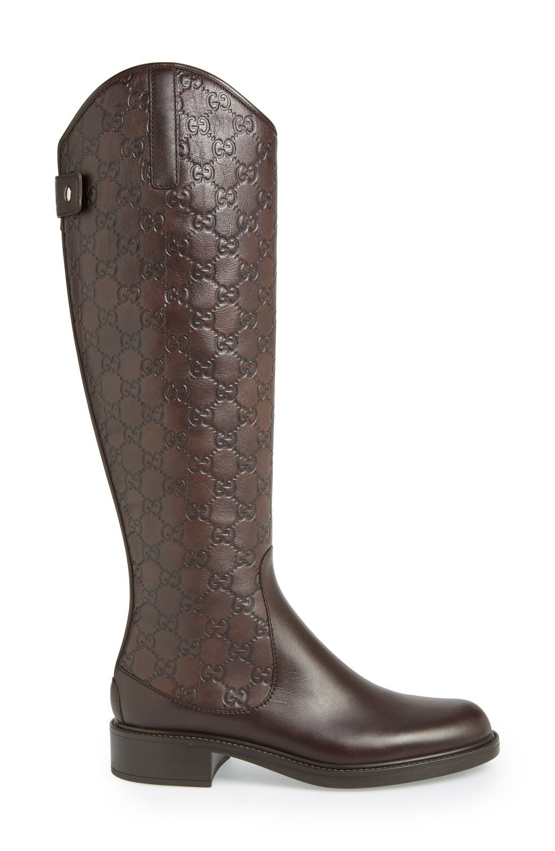 GUCCI,                             'Maud' Boot,                             Alternate thumbnail 4, color,                             200