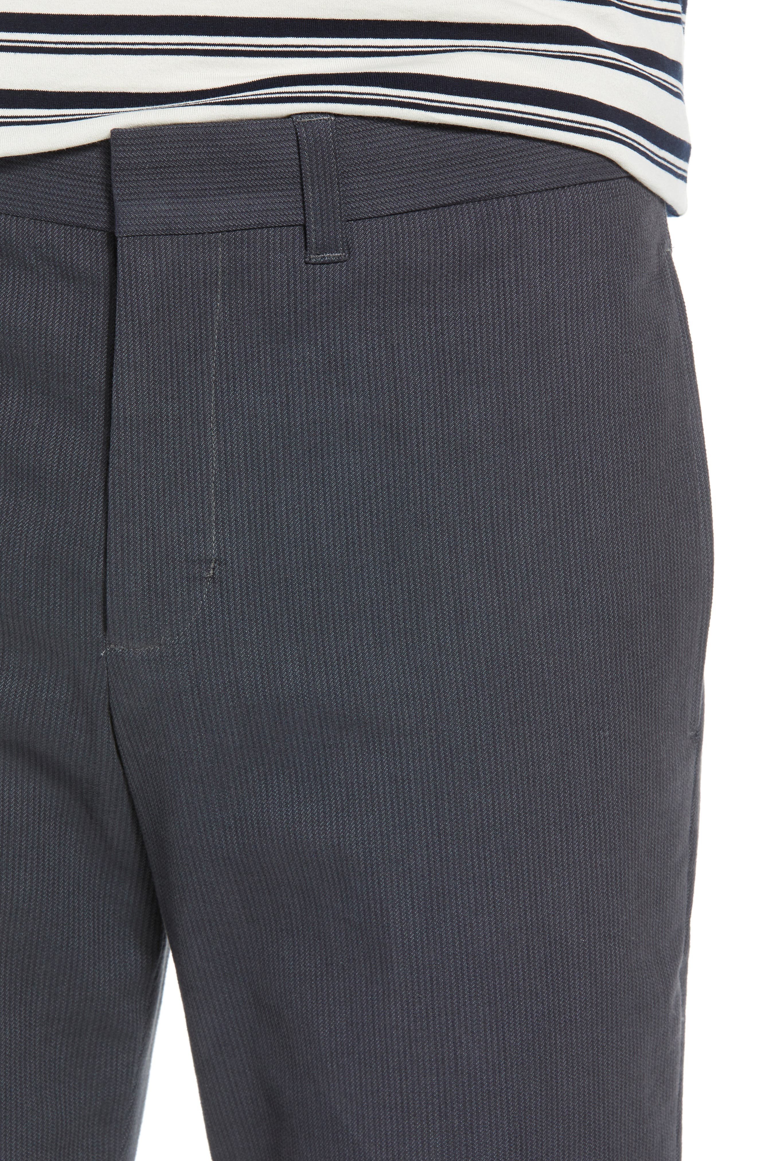 Griffith Slim Fit Chinos,                             Alternate thumbnail 4, color,                             SLATE