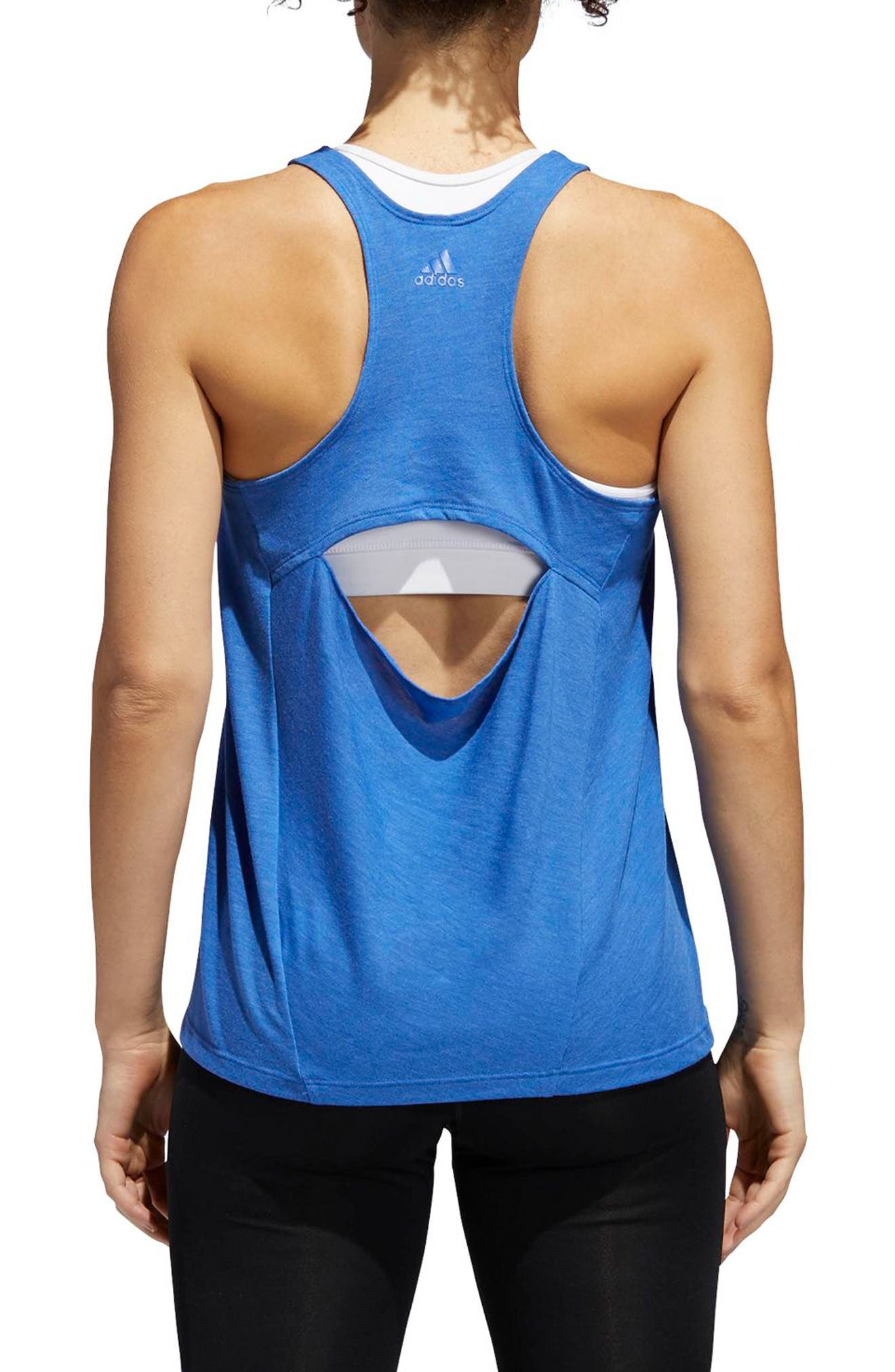 Performer Open Back Tank,                             Alternate thumbnail 6, color,