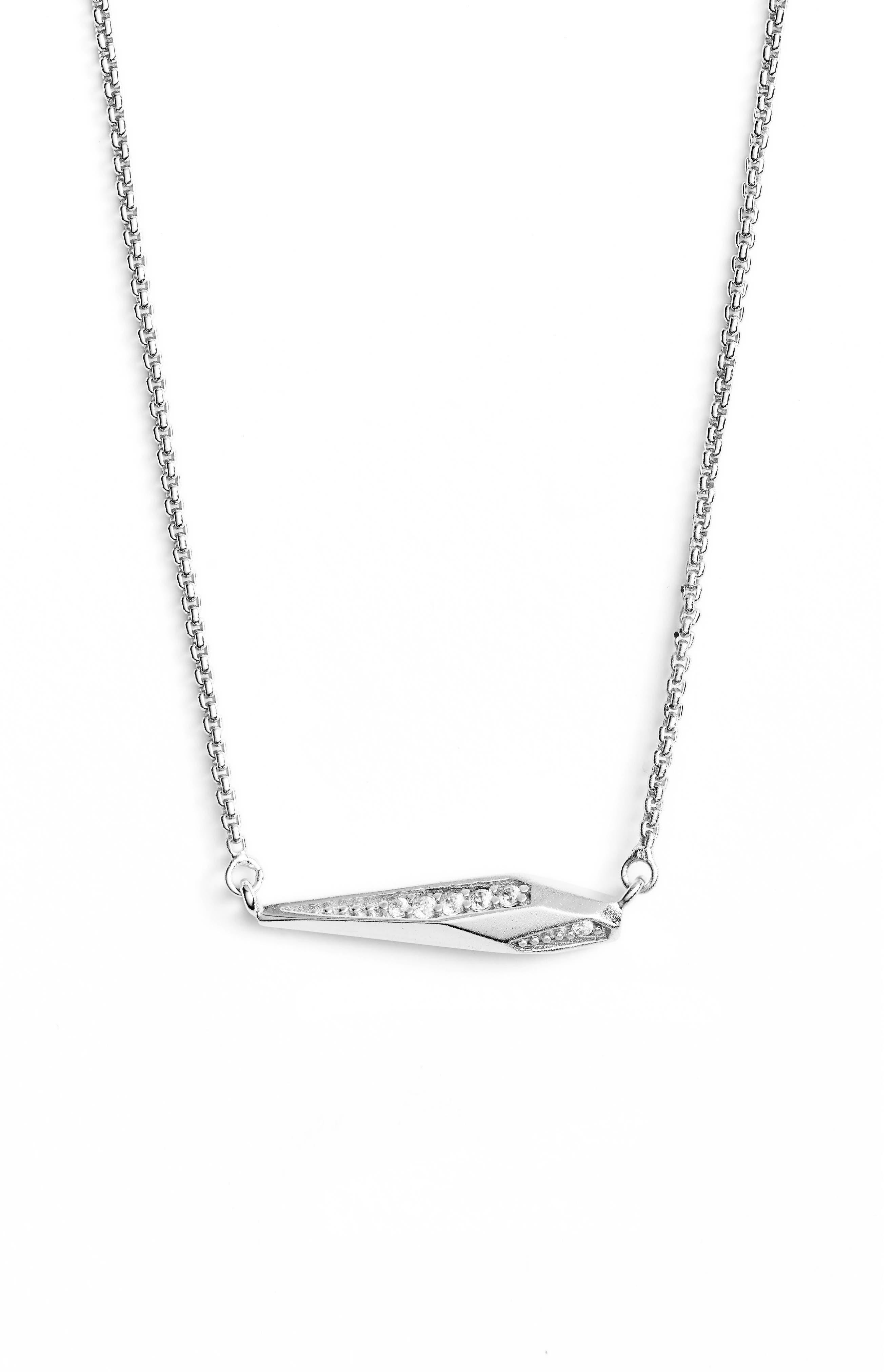 Tabitha Crystal Dagger Necklace,                             Alternate thumbnail 2, color,                             040