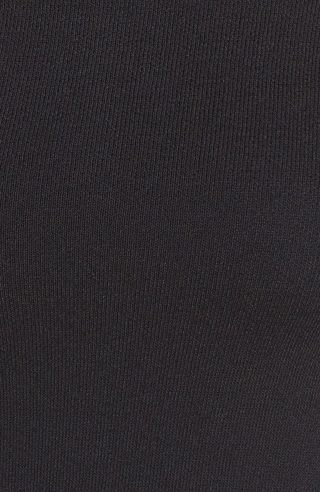 Cold Shoulder Knit Body-Con Dress,                             Alternate thumbnail 8, color,