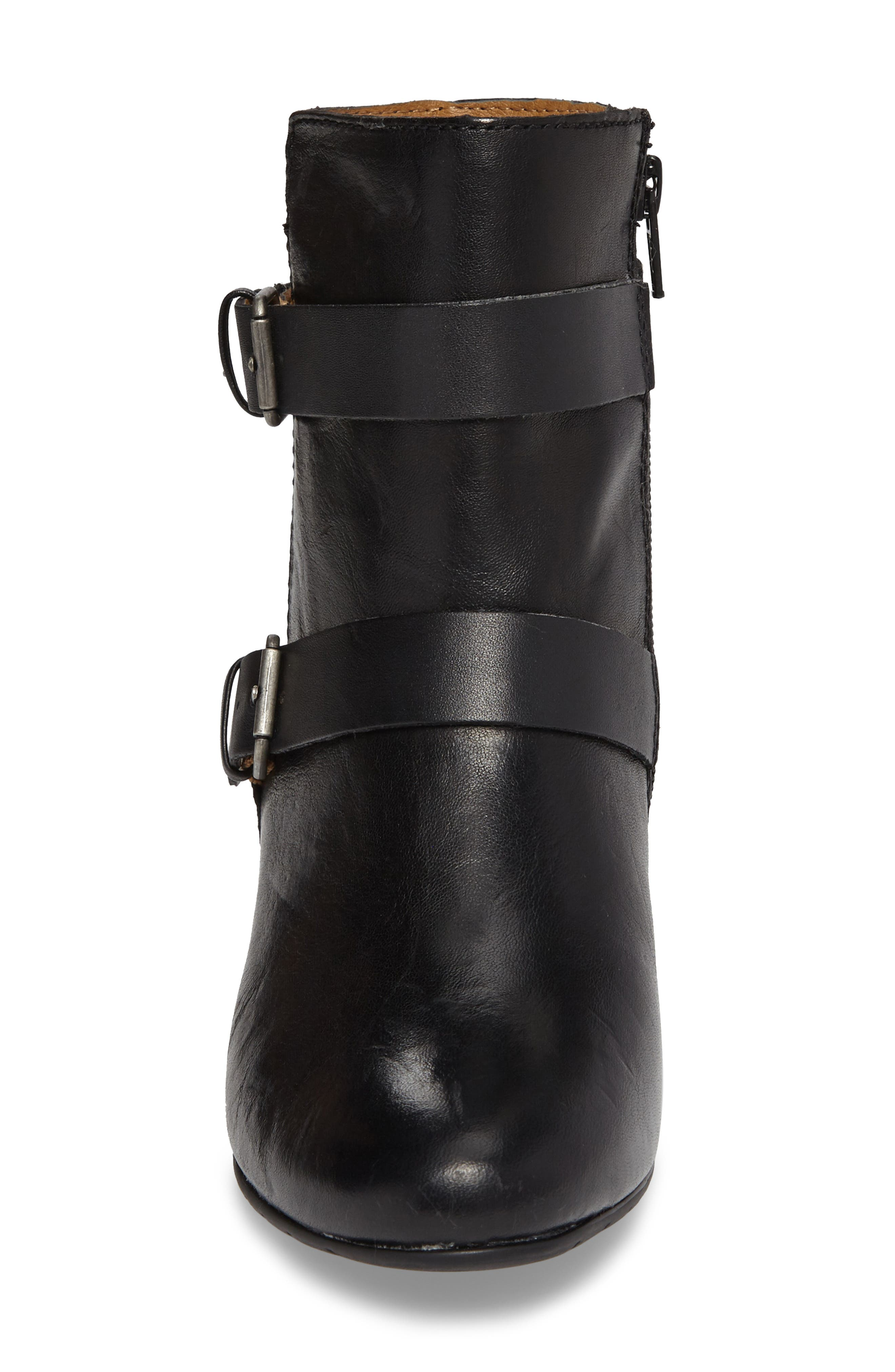 Ramika Wedge Bootie,                             Alternate thumbnail 4, color,                             001