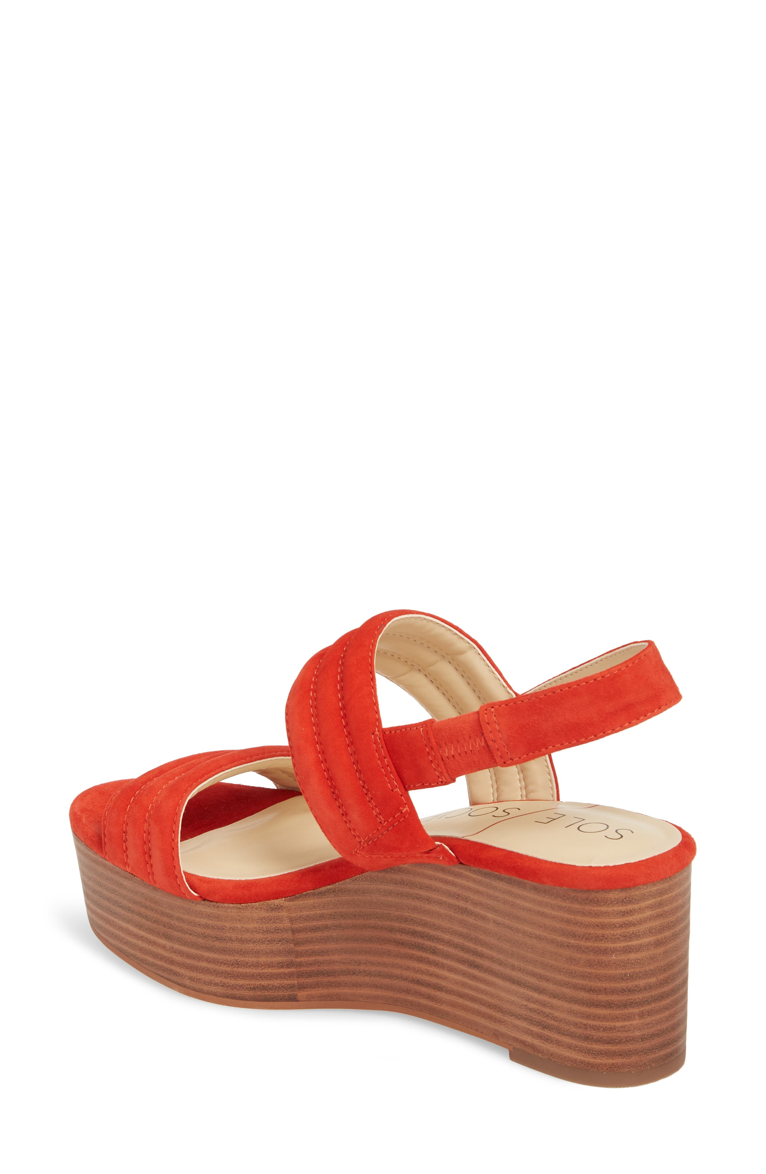 Amberly Platform Sandal,                             Alternate thumbnail 8, color,