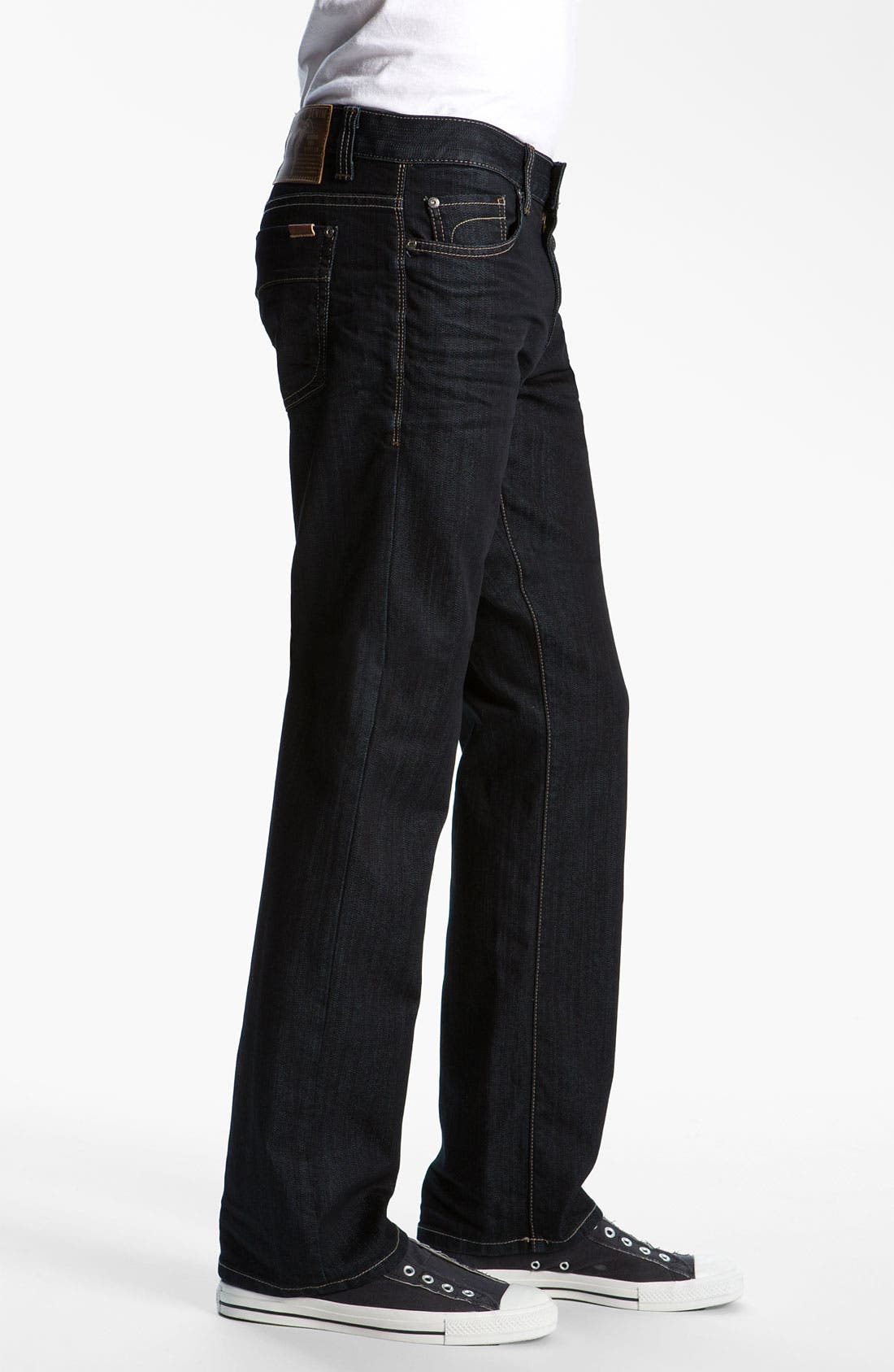 '50-11' Straight Leg Jeans,                             Alternate thumbnail 3, color,