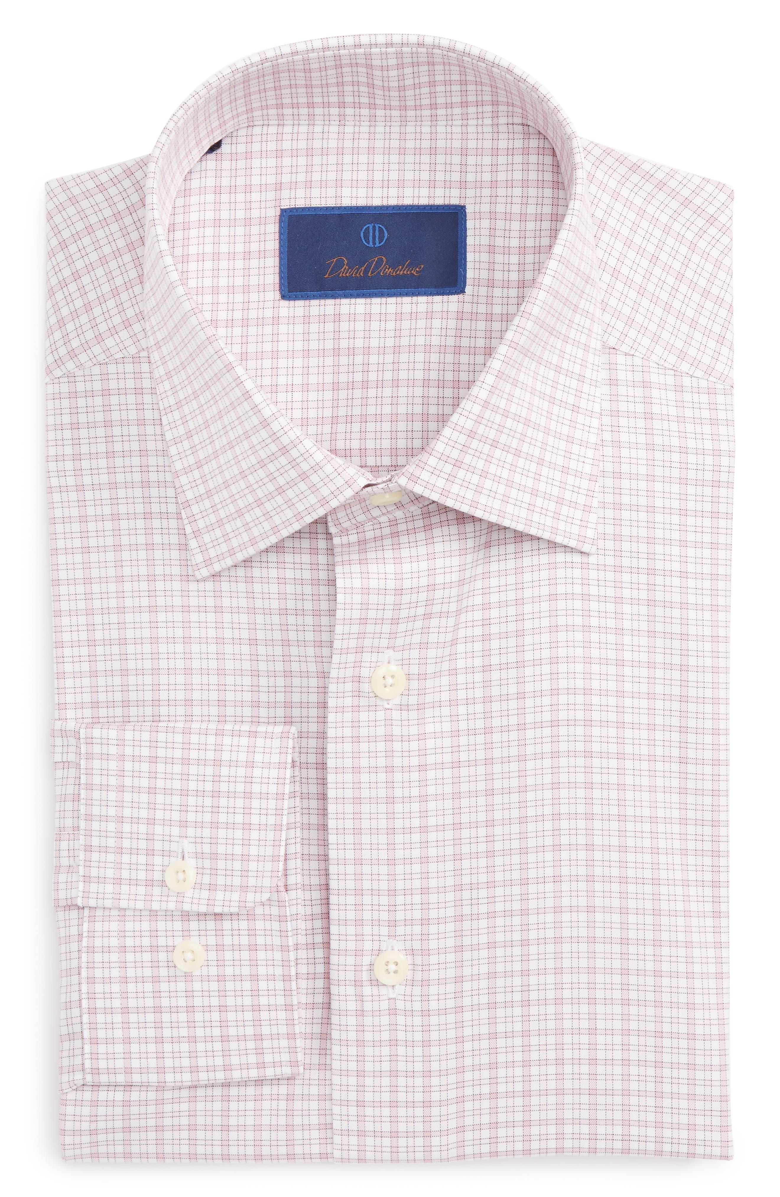 Regular Fit Check Dress Shirt,                             Main thumbnail 1, color,                             650