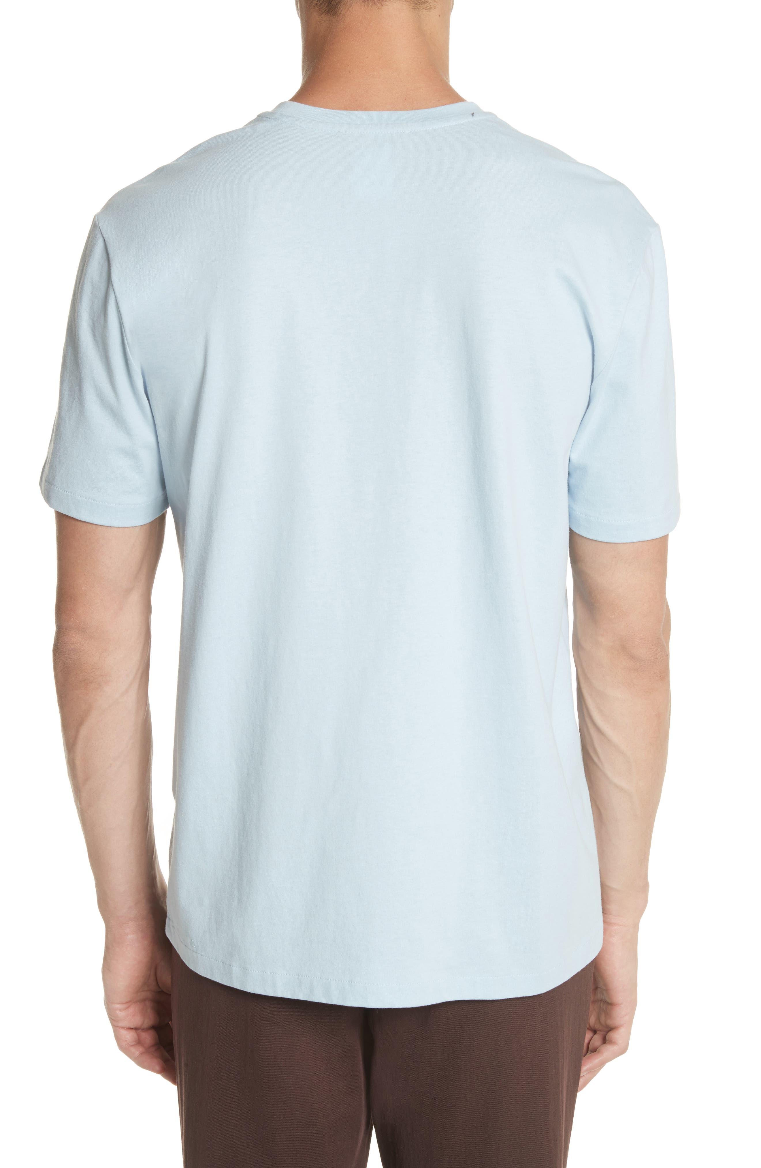 Double Pocket T-Shirt,                             Alternate thumbnail 2, color,                             BLUE