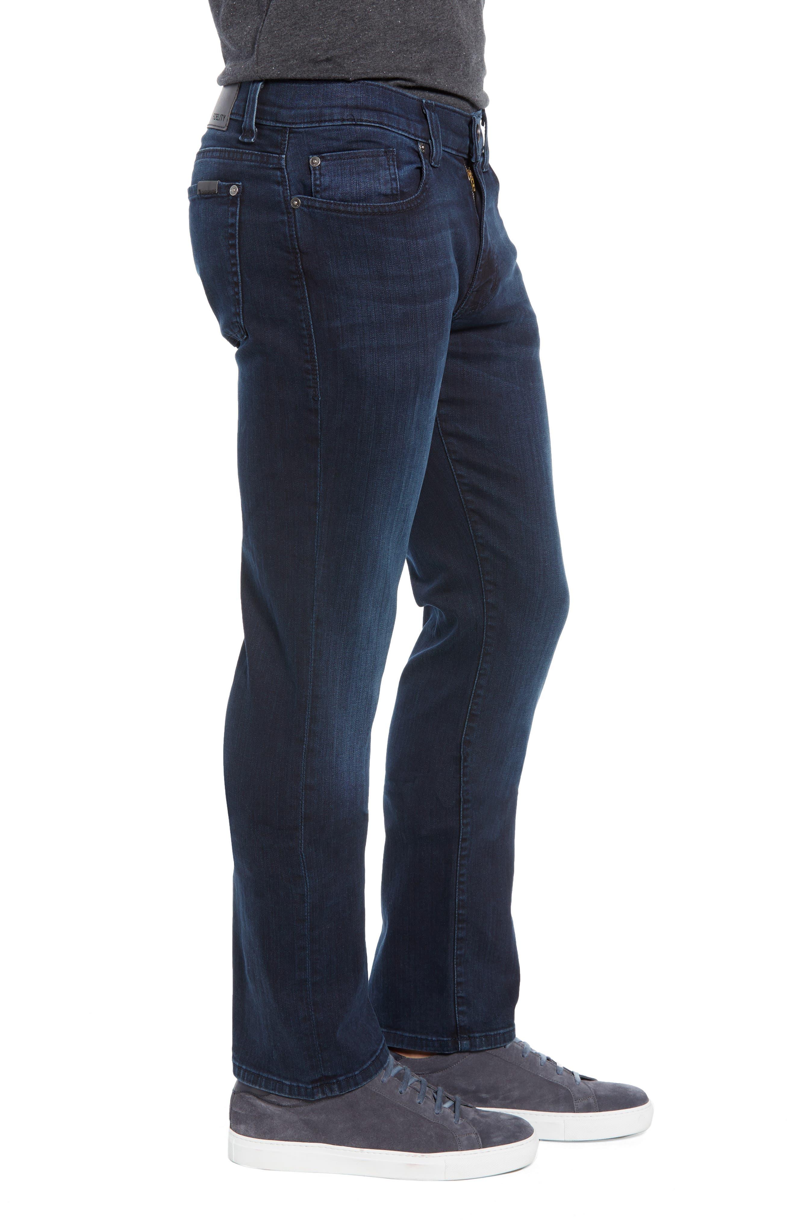 Impala Straight Leg Jeans,                             Alternate thumbnail 3, color,                             GENESIS